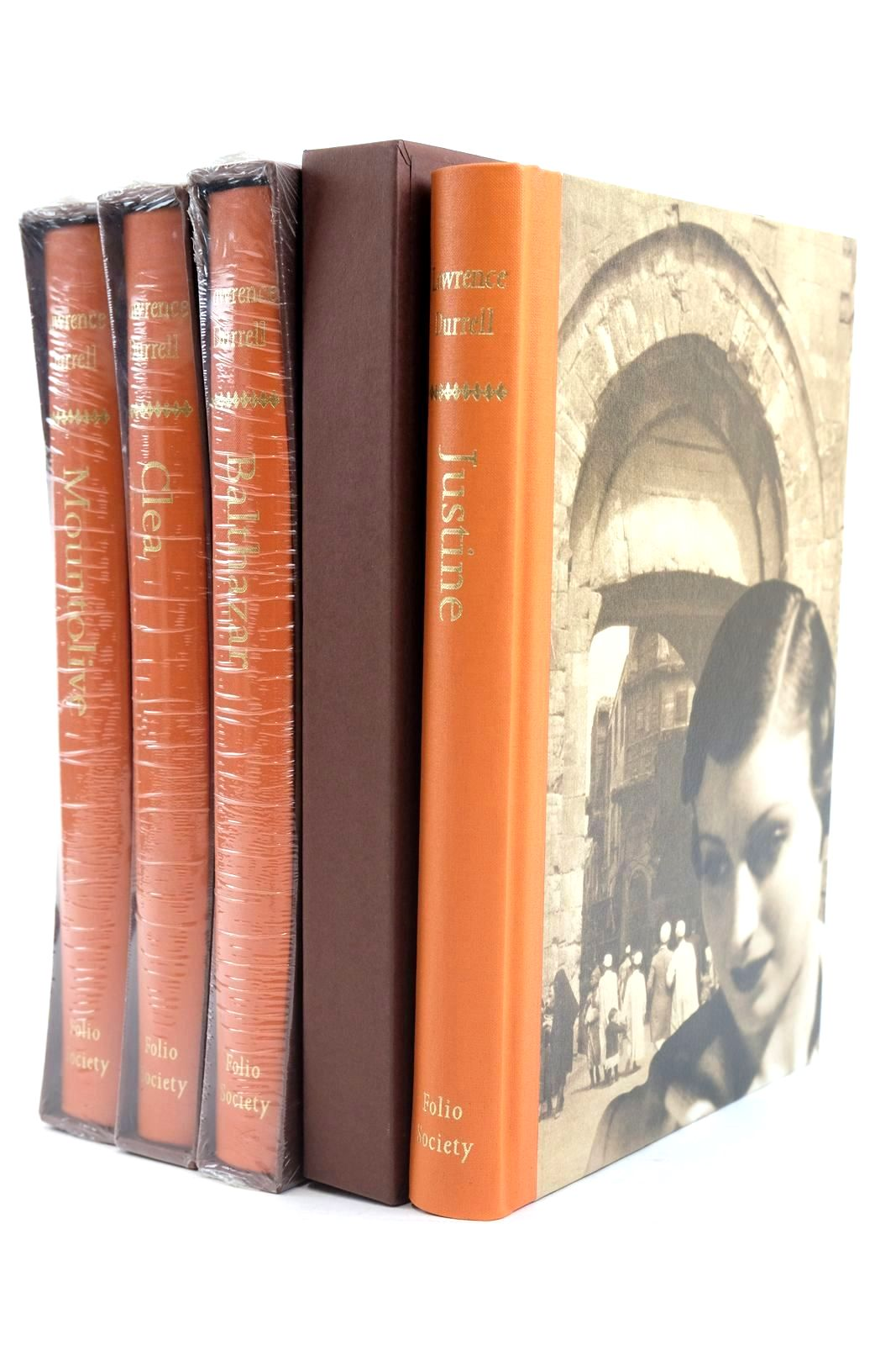 Photo of THE ALEXANDRIA QUARTET written by Durrell, Lawrence published by Folio Society (STOCK CODE: 1319883)  for sale by Stella & Rose's Books