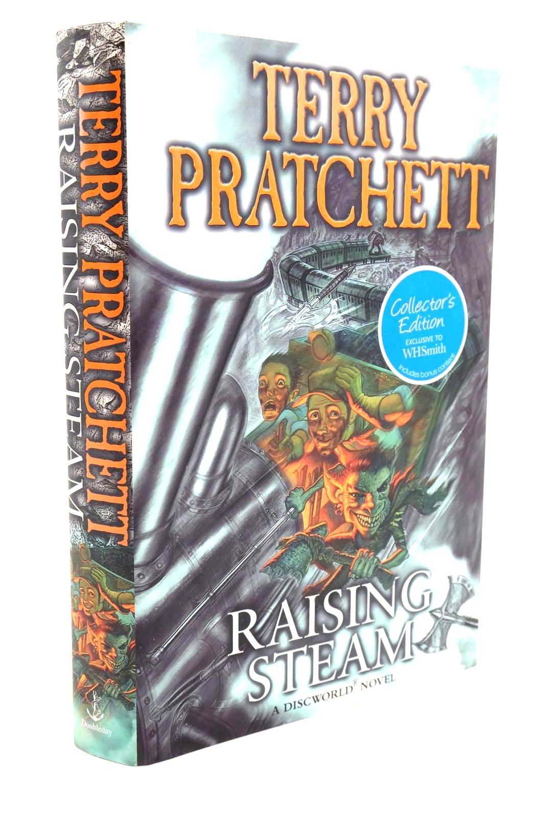 Photo of RAISING STEAM written by Pratchett, Terry published by Doubleday (STOCK CODE: 1319886)  for sale by Stella & Rose's Books