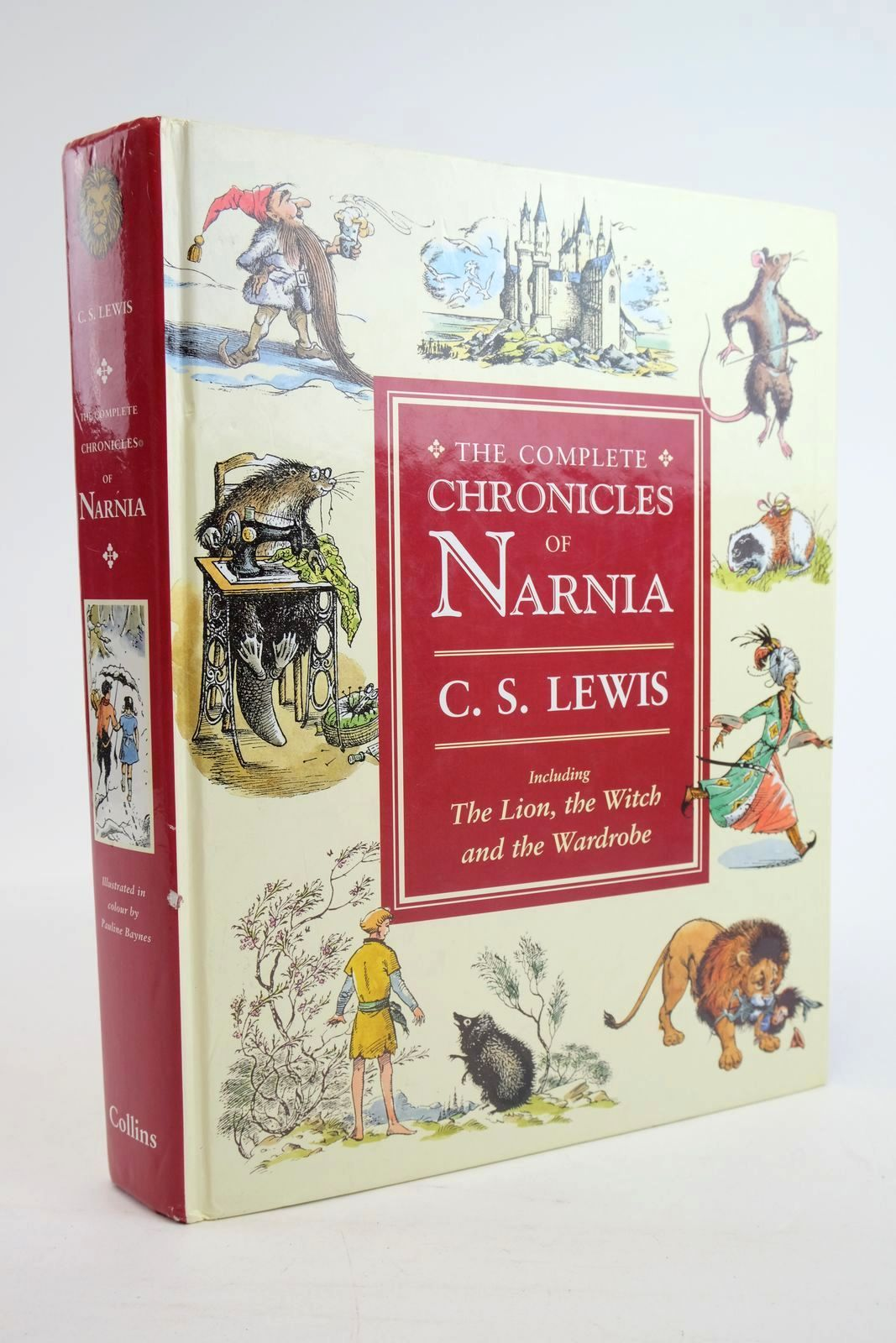 Photo of THE COMPLETE CHRONICLES OF NARNIA written by Lewis, C.S. illustrated by Baynes, Pauline published by Collins (STOCK CODE: 1319890)  for sale by Stella & Rose's Books