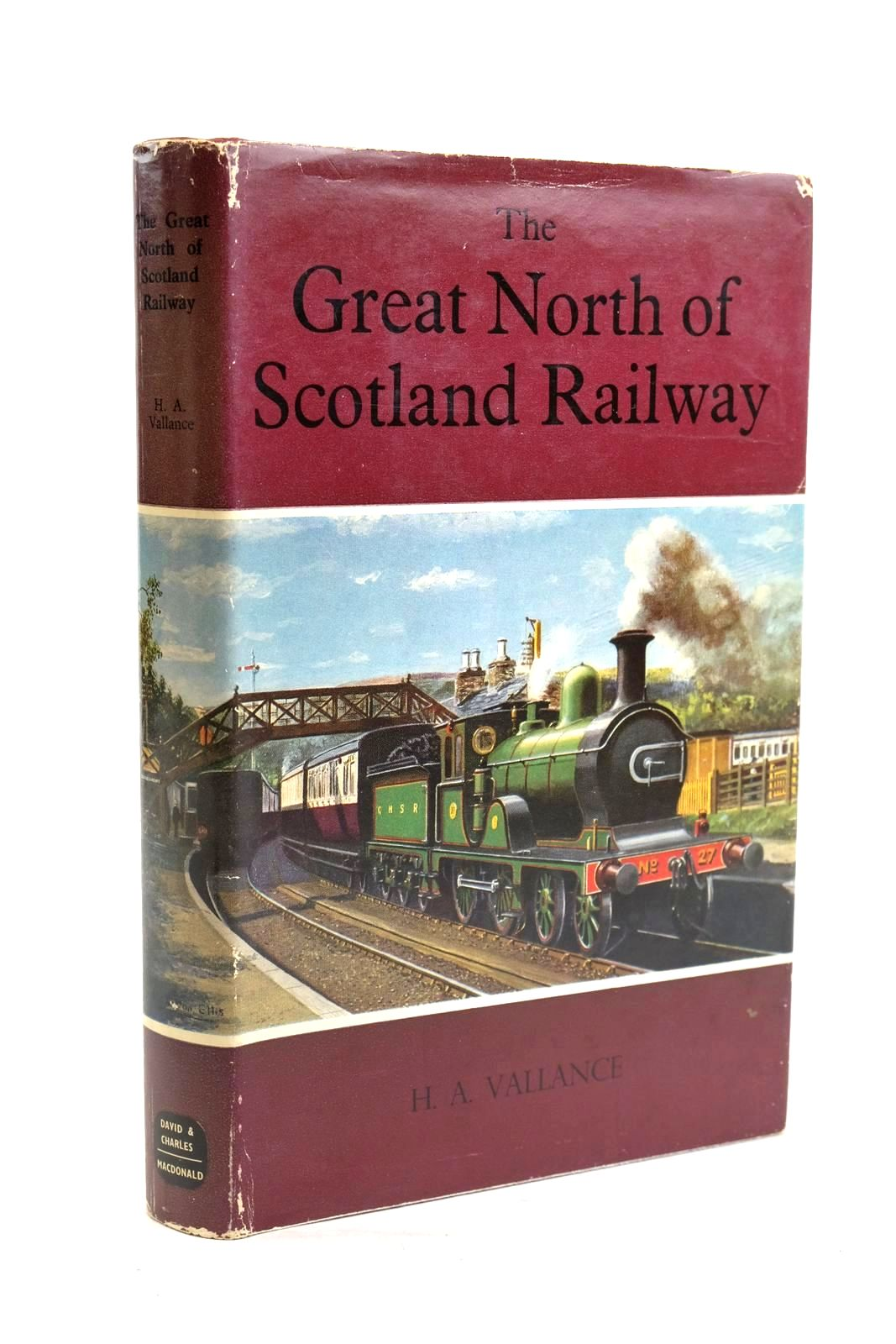 Photo of THE GREAT NORTH OF SCOTLAND RAILWAY written by Vallance, H.A. published by David & Charles, MacDonald (STOCK CODE: 1319921)  for sale by Stella & Rose's Books