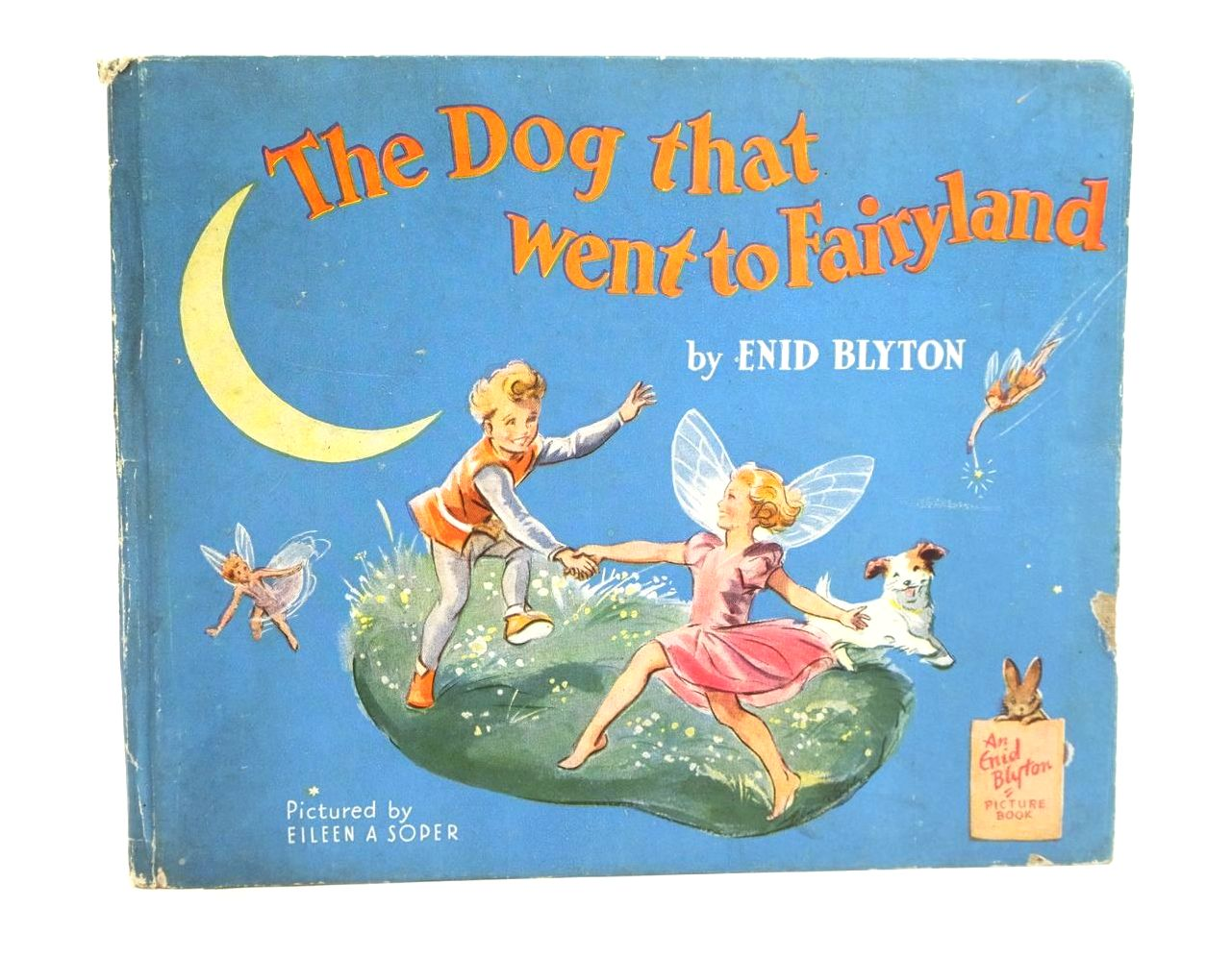 Photo of THE DOG THAT WENT TO FAIRYLAND written by Blyton, Enid illustrated by Soper, Eileen published by The Brockhampton Book Co. Ltd. (STOCK CODE: 1319928)  for sale by Stella & Rose's Books