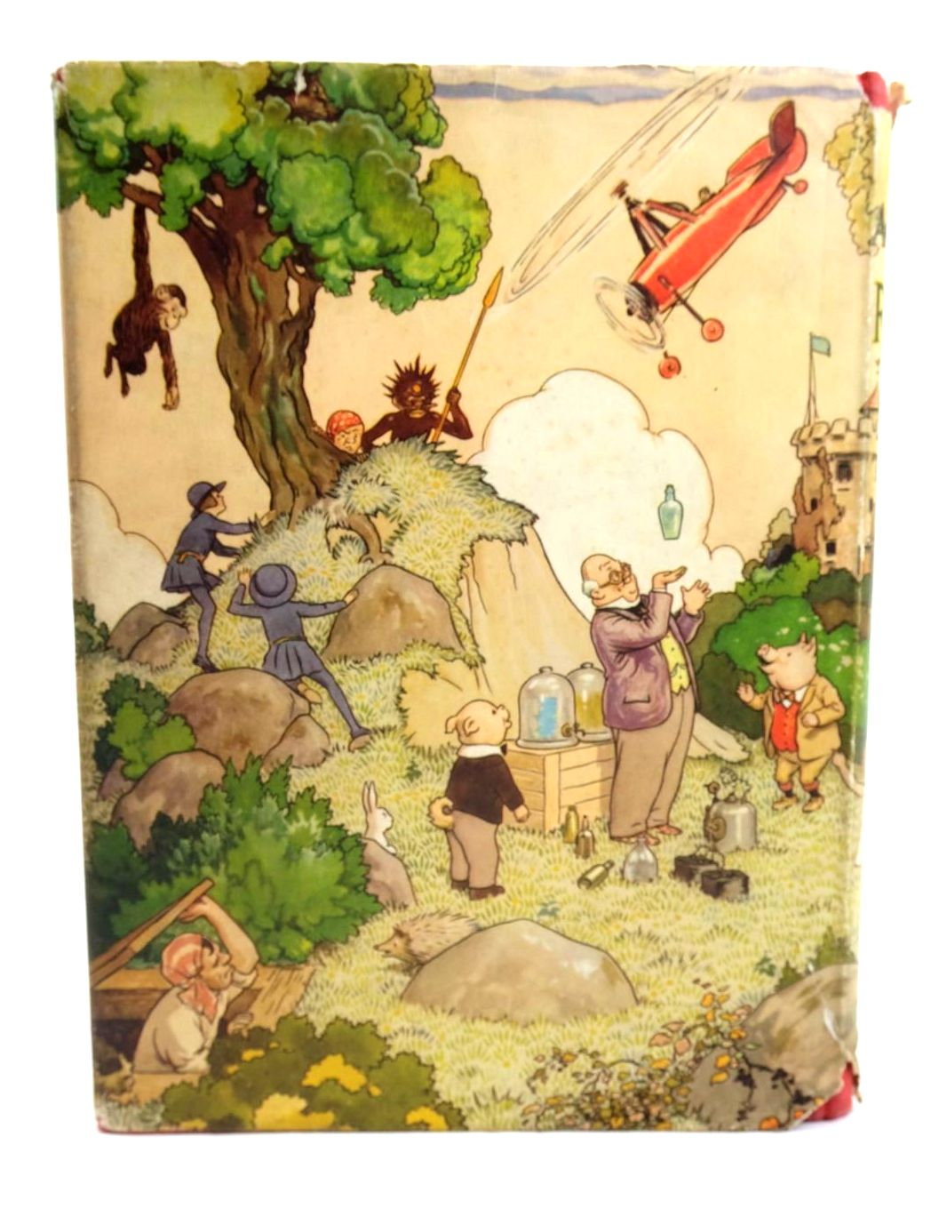 Photo of RUPERT ANNUAL 1936 - THE NEW ADVENTURES OF RUPERT written by Bestall, Alfred illustrated by Bestall, Alfred published by Daily Express (STOCK CODE: 1319929)  for sale by Stella & Rose's Books