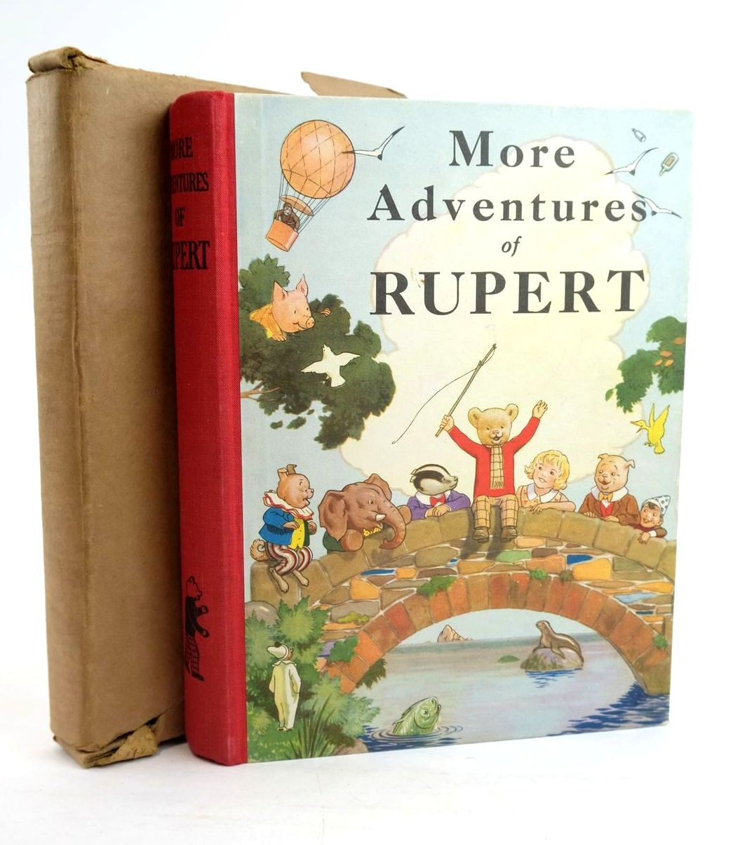 Photo of RUPERT ANNUAL 1937 - MORE ADVENTURES OF RUPERT written by Bestall, Alfred illustrated by Bestall, Alfred published by Daily Express (STOCK CODE: 1319930)  for sale by Stella & Rose's Books
