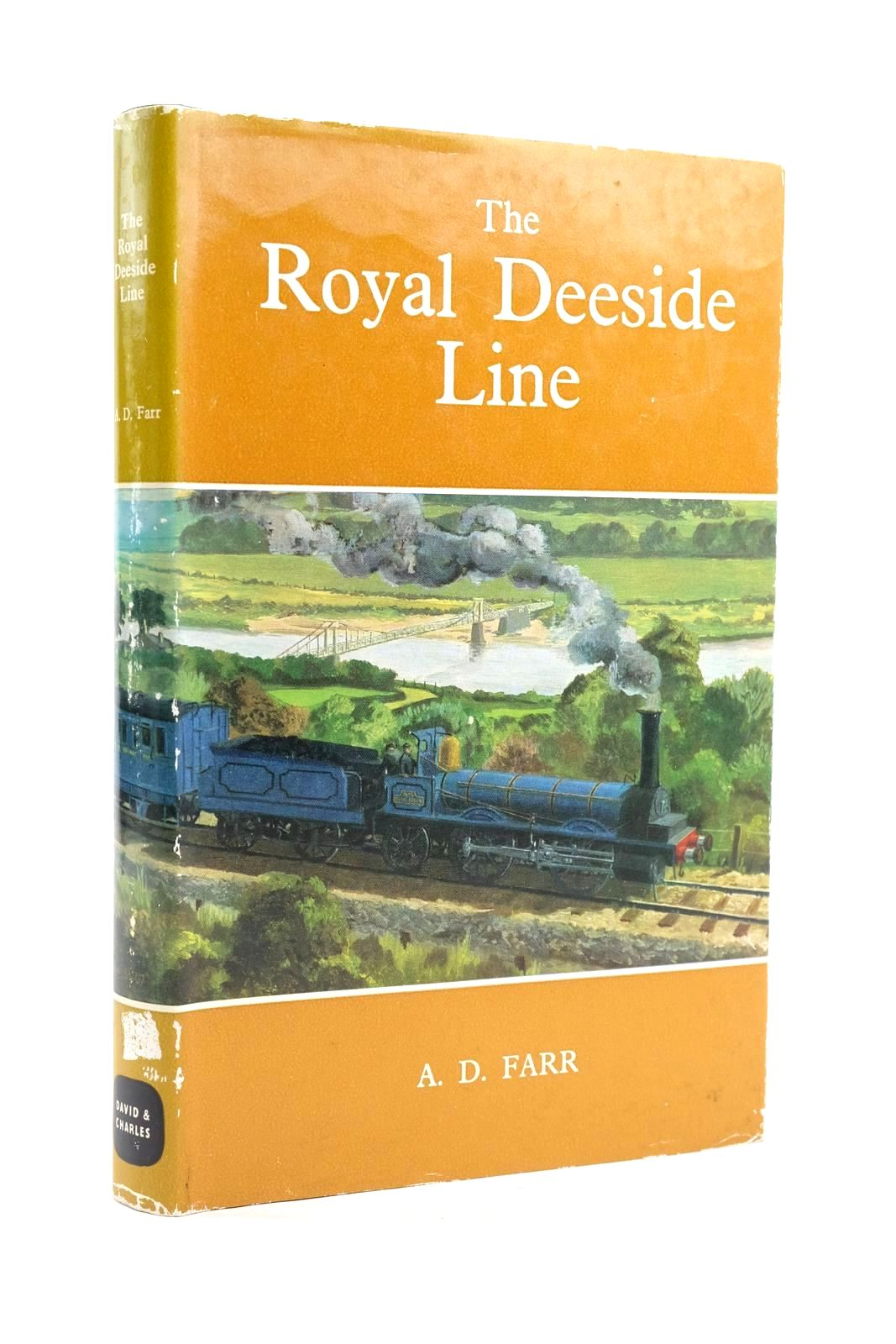 Photo of THE ROYAL DEESIDE LINE written by Farr, A.D. published by David & Charles (STOCK CODE: 1319936)  for sale by Stella & Rose's Books
