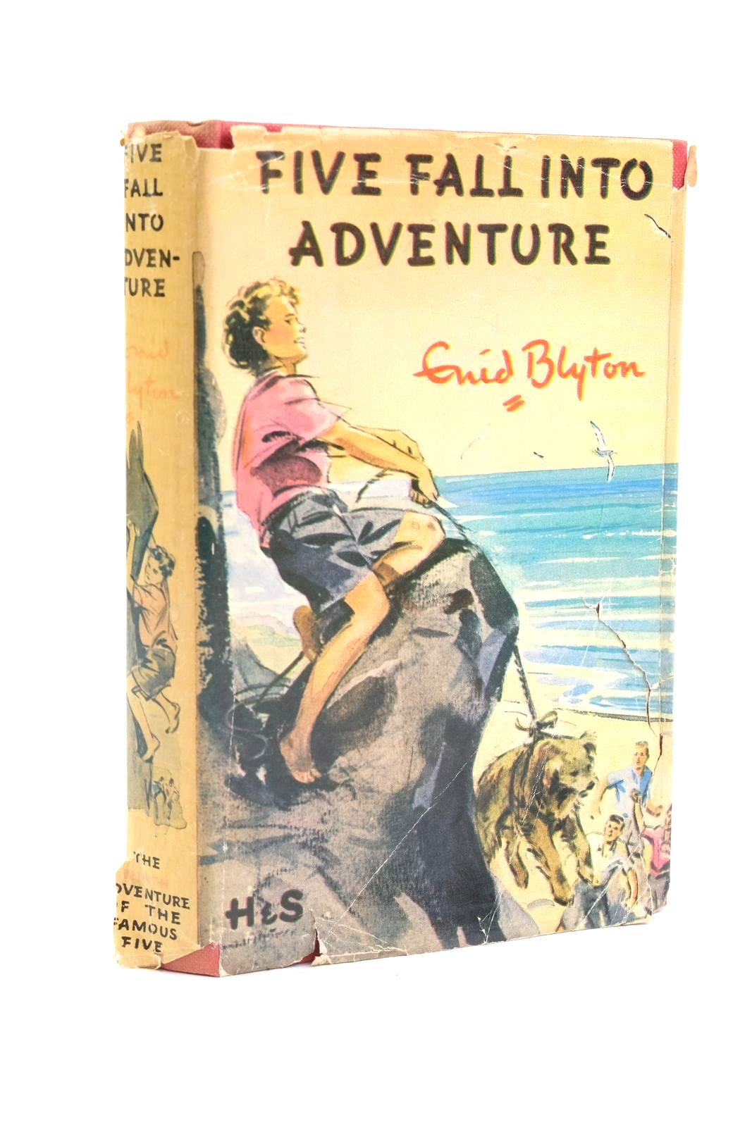 Photo of FIVE FALL INTO ADVENTURE written by Blyton, Enid illustrated by Soper, Eileen published by Hodder & Stoughton (STOCK CODE: 1319943)  for sale by Stella & Rose's Books