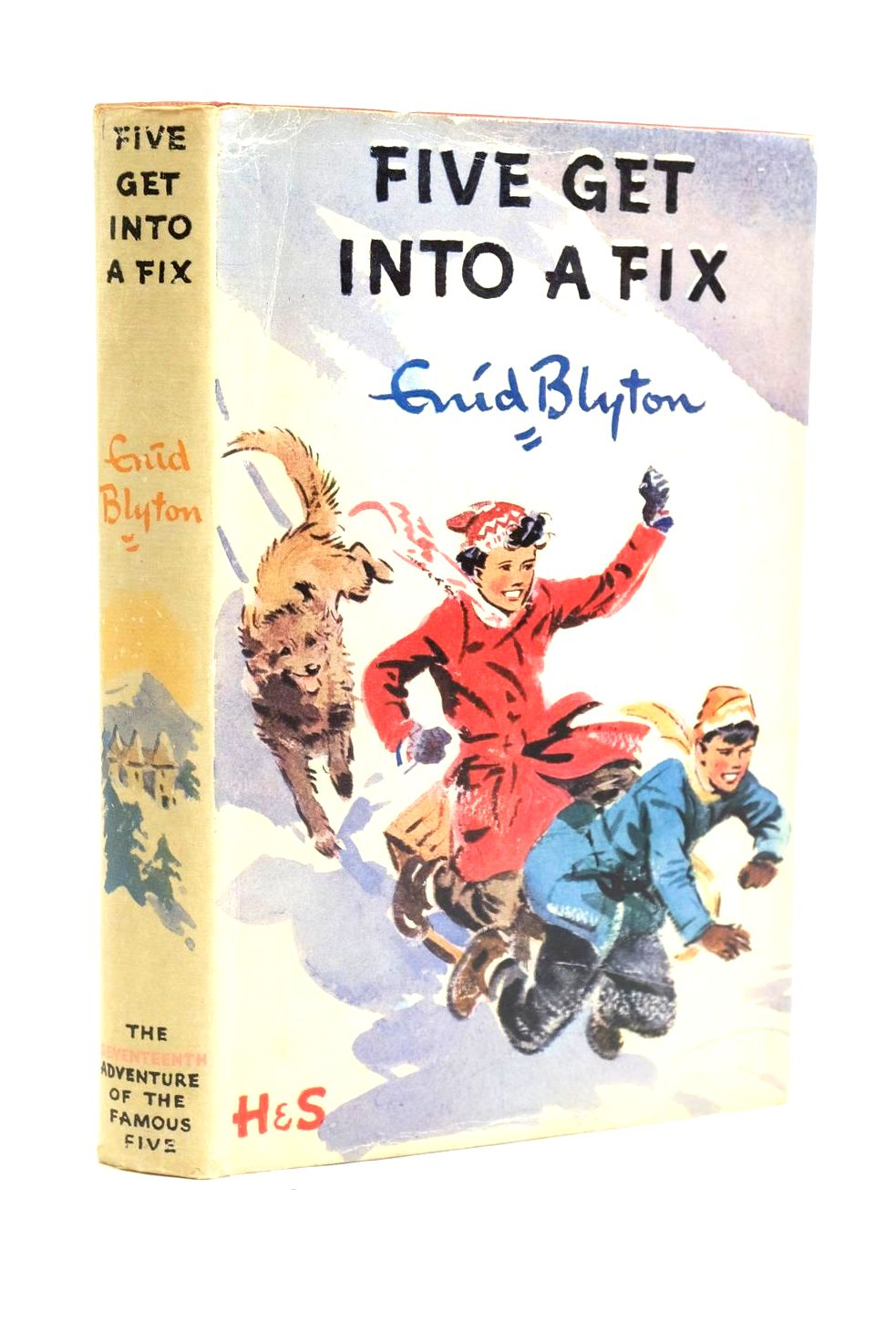 Photo of FIVE GET INTO A FIX written by Blyton, Enid illustrated by Soper, Eileen published by Hodder & Stoughton (STOCK CODE: 1319947)  for sale by Stella & Rose's Books