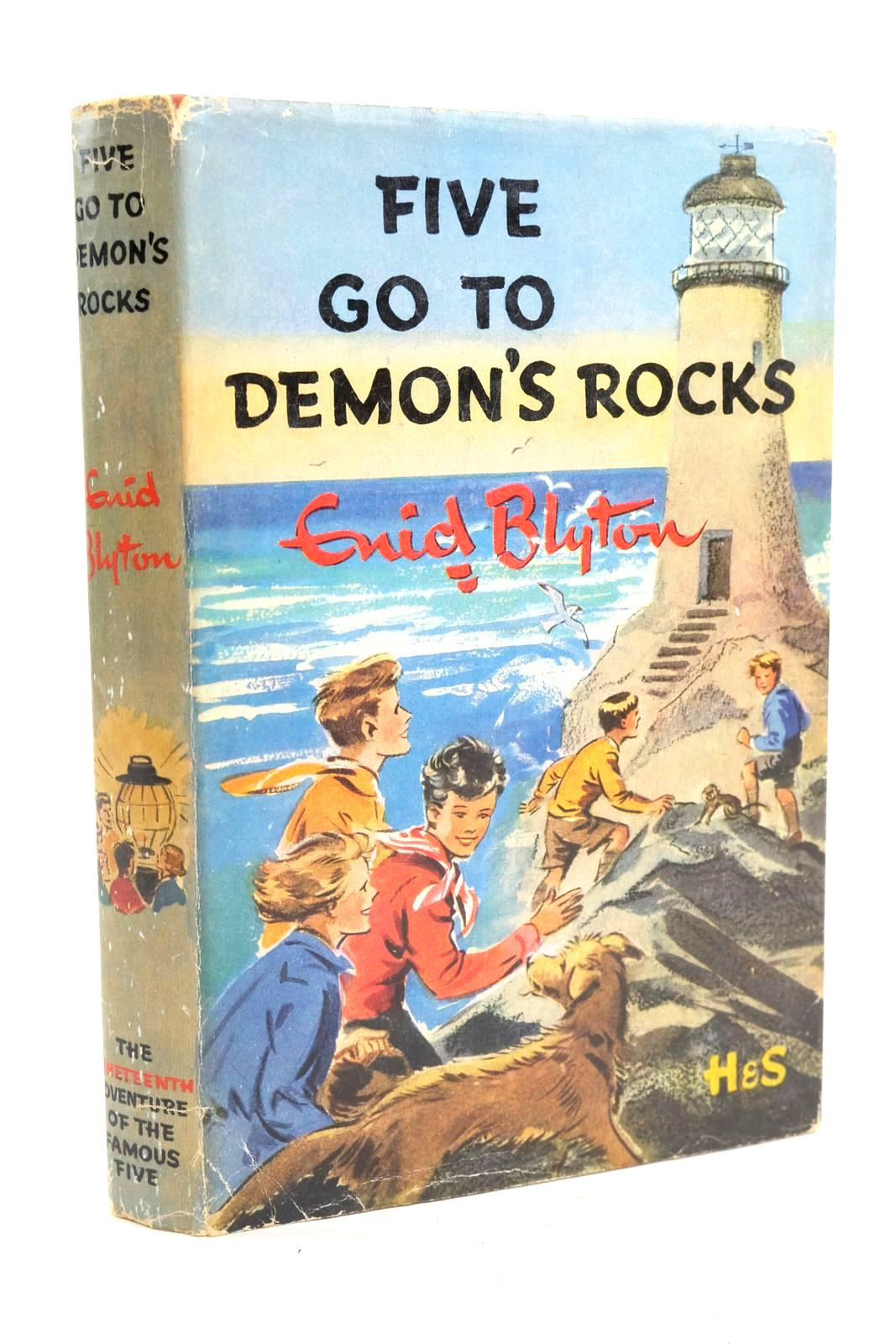 Photo of FIVE GO TO DEMON'S ROCKS written by Blyton, Enid illustrated by Soper, Eileen published by Hodder & Stoughton (STOCK CODE: 1319952)  for sale by Stella & Rose's Books