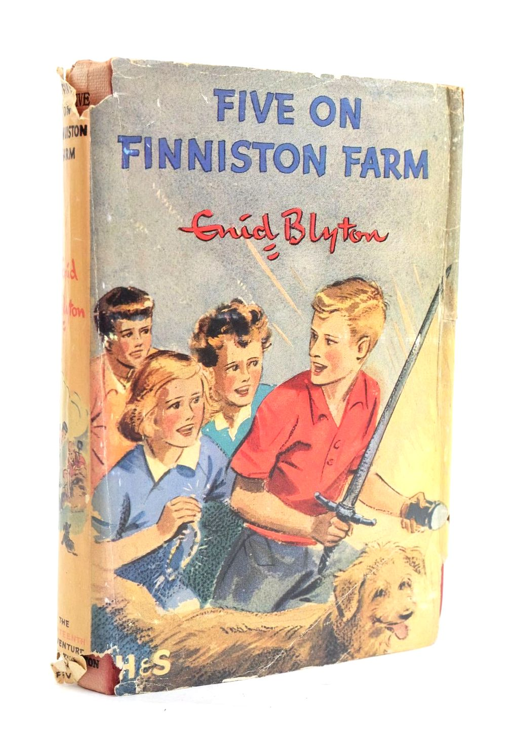 Photo of FIVE ON FINNISTON FARM written by Blyton, Enid illustrated by Soper, Eileen published by Hodder & Stoughton (STOCK CODE: 1319953)  for sale by Stella & Rose's Books