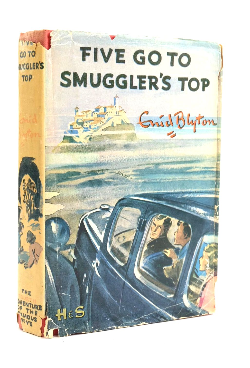 Photo of FIVE GO TO SMUGGLER'S TOP written by Blyton, Enid illustrated by Soper, Eileen published by Hodder & Stoughton (STOCK CODE: 1319955)  for sale by Stella & Rose's Books