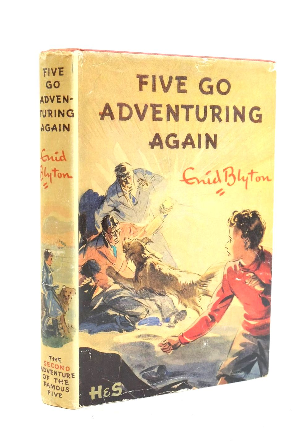 Photo of FIVE GO ADVENTURING AGAIN written by Blyton, Enid illustrated by Soper, Eileen published by Hodder & Stoughton (STOCK CODE: 1319957)  for sale by Stella & Rose's Books