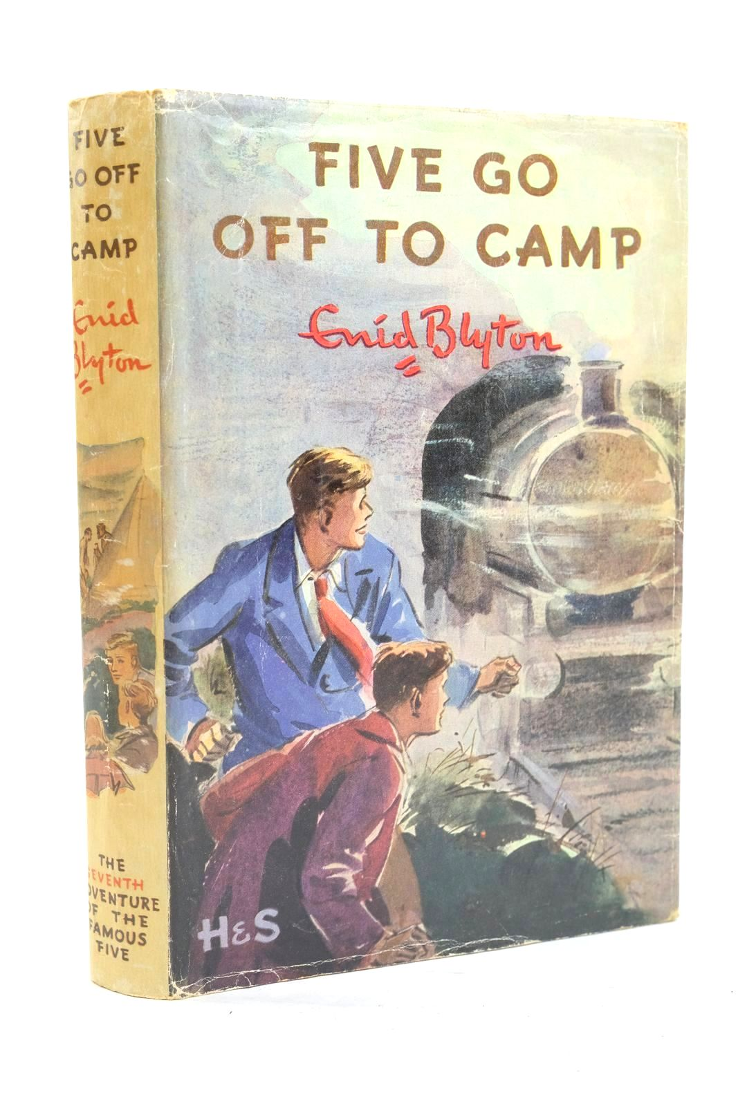 Photo of FIVE GO OFF TO CAMP written by Blyton, Enid illustrated by Soper, Eileen published by Hodder & Stoughton (STOCK CODE: 1319959)  for sale by Stella & Rose's Books