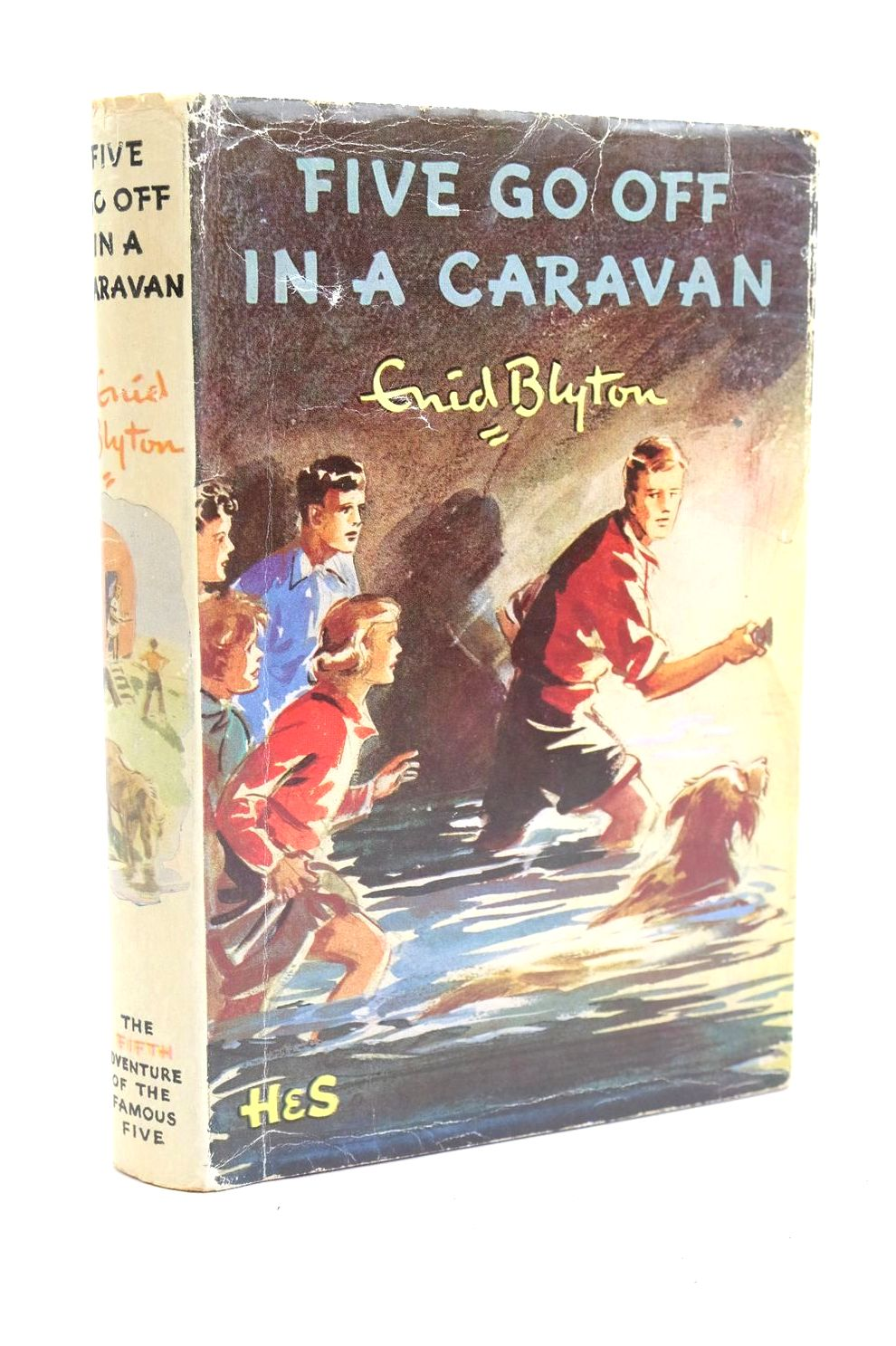 Photo of FIVE GO OFF IN A CARAVAN written by Blyton, Enid illustrated by Soper, Eileen published by Hodder & Stoughton (STOCK CODE: 1319961)  for sale by Stella & Rose's Books