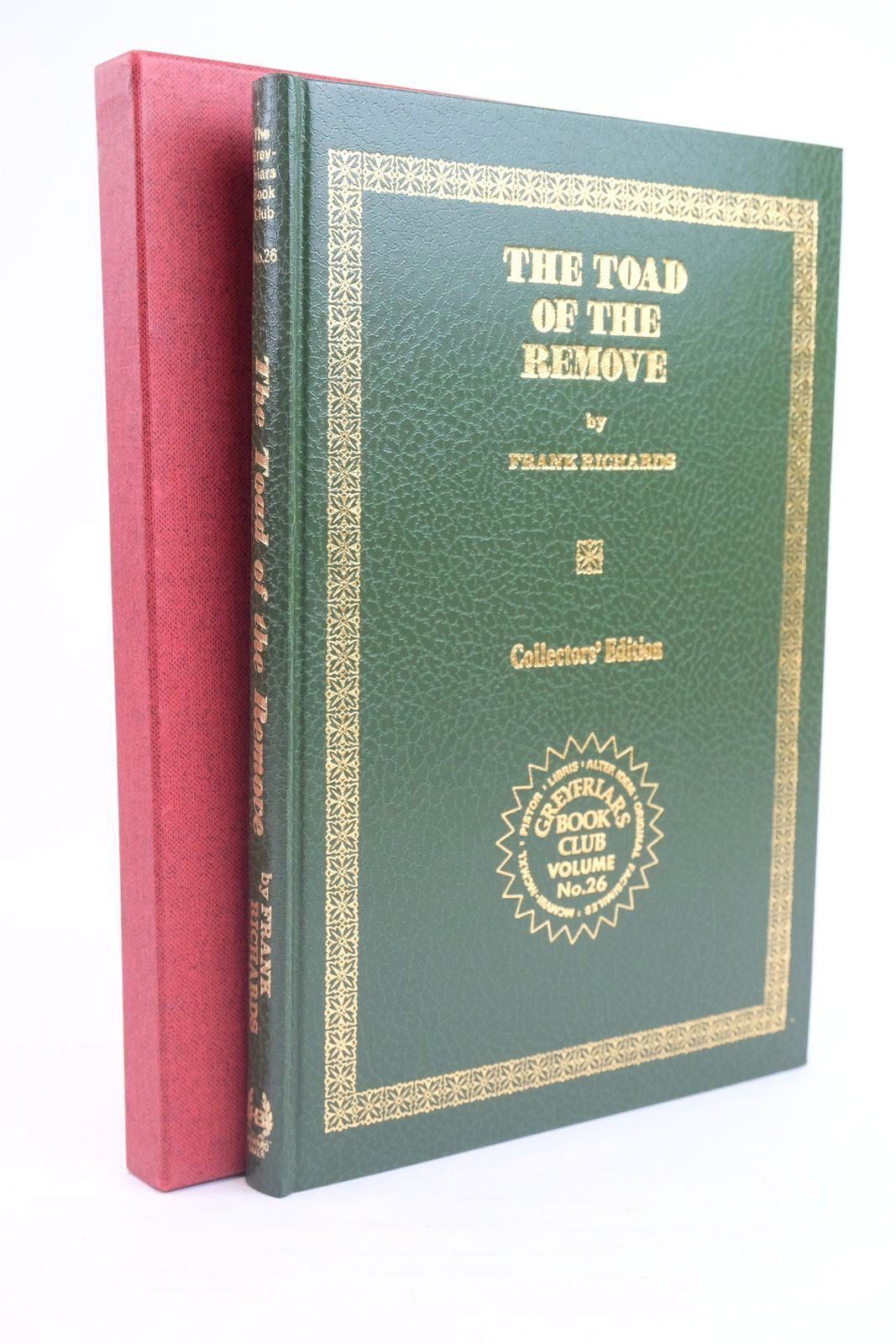 Photo of THE TOAD OF THE REMOVE written by Richards, Frank published by Howard Baker Press (STOCK CODE: 1319964)  for sale by Stella & Rose's Books