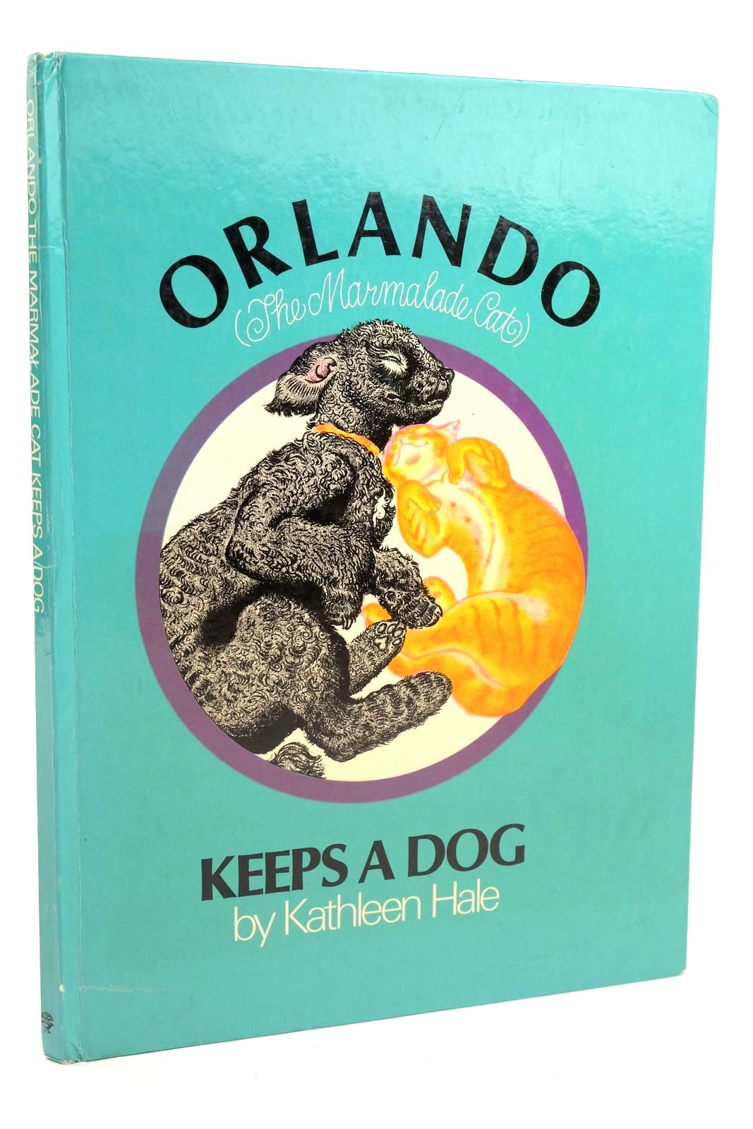 Photo of ORLANDO (THE MARMALADE CAT) KEEPS A DOG written by Hale, Kathleen illustrated by Hale, Kathleen published by Jonathan Cape (STOCK CODE: 1319979)  for sale by Stella & Rose's Books
