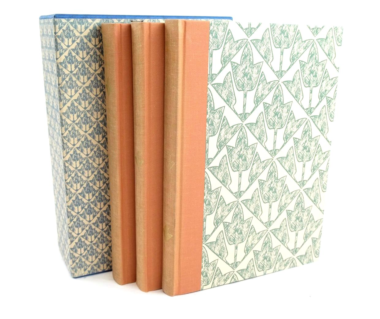 Photo of THE FORSYTE SAGA (3 VOLUMES) written by Galsworthy, John illustrated by Gross, Anthony published by Folio Society (STOCK CODE: 1320000)  for sale by Stella & Rose's Books
