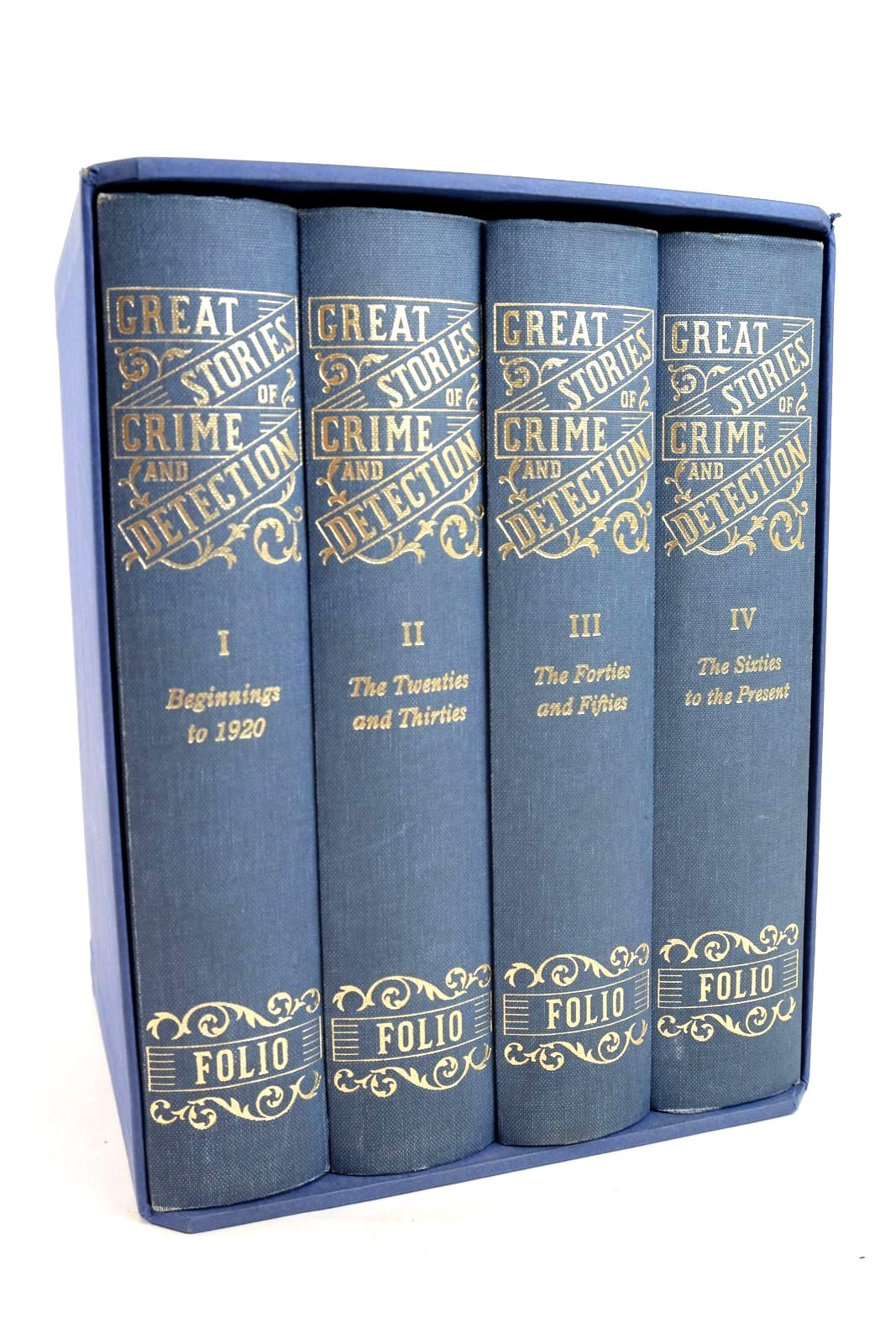 Photo of GREAT STORIES OF CRIME AND DETECTION (4 VOLUMES) written by Heald, Tim illustrated by Hardcastle, Nick published by Folio Society (STOCK CODE: 1320001)  for sale by Stella & Rose's Books