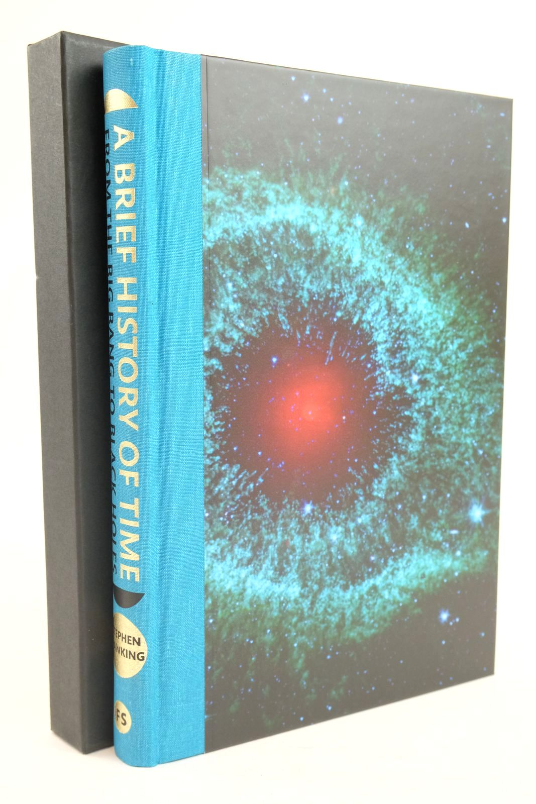 Photo of A BRIEF HISTORY OF TIME FROM THE BIG BANG TO BLACK HOLES written by Hawking, Stephen W. published by Folio Society (STOCK CODE: 1320005)  for sale by Stella & Rose's Books
