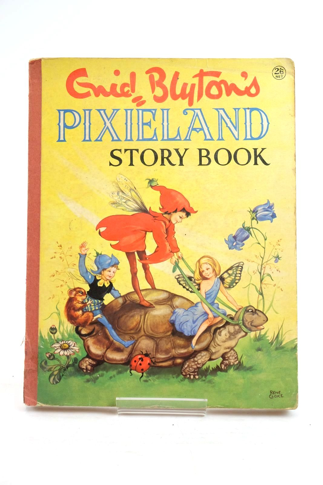 Photo of ENID BLYTON'S PIXIELAND STORY BOOK written by Blyton, Enid illustrated by Cloke, Rene published by Collins (STOCK CODE: 1320050)  for sale by Stella & Rose's Books