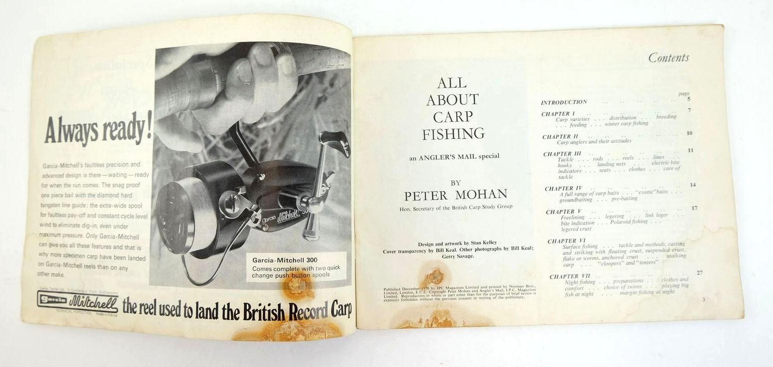 Photo of ALL ABOUT CARP FISHING written by Mohan, Peter published by Angler's Mail (STOCK CODE: 1320071)  for sale by Stella & Rose's Books