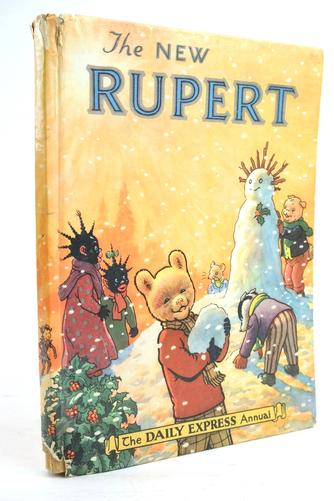 Photo of RUPERT ANNUAL 1954 - THE NEW RUPERT written by Bestall, Alfred illustrated by Bestall, Alfred published by Daily Express (STOCK CODE: 1320114)  for sale by Stella & Rose's Books