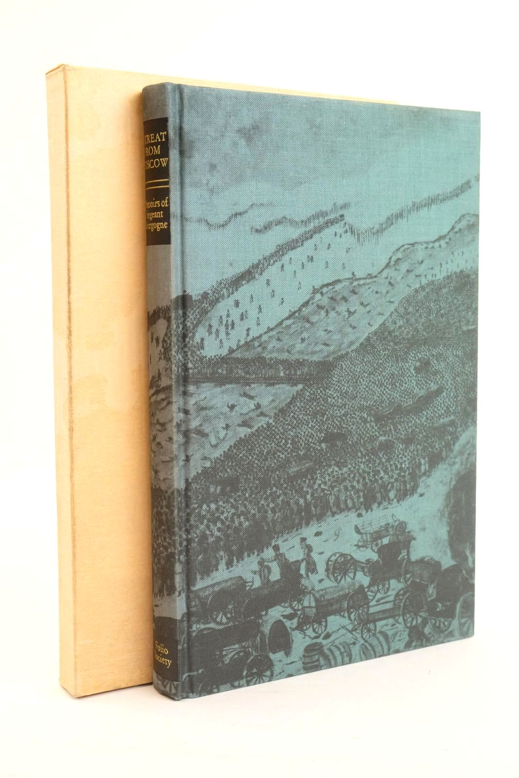 Photo of THE RETREAT FROM MOSCOW written by Bourgogne, Sergeant Cronin, Vincent published by Folio Society (STOCK CODE: 1320127)  for sale by Stella & Rose's Books