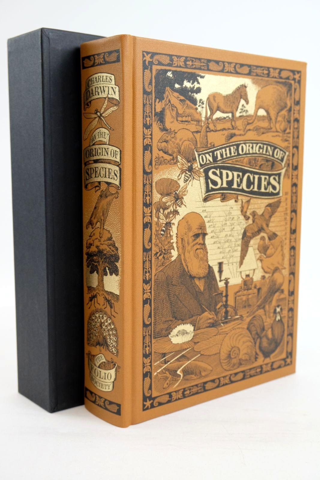 Photo of ON THE ORIGIN OF SPECIES BY MEANS OF NATURAL SELECTION written by Darwin, Charles Keynes, Richard published by Folio Society (STOCK CODE: 1320147)  for sale by Stella & Rose's Books