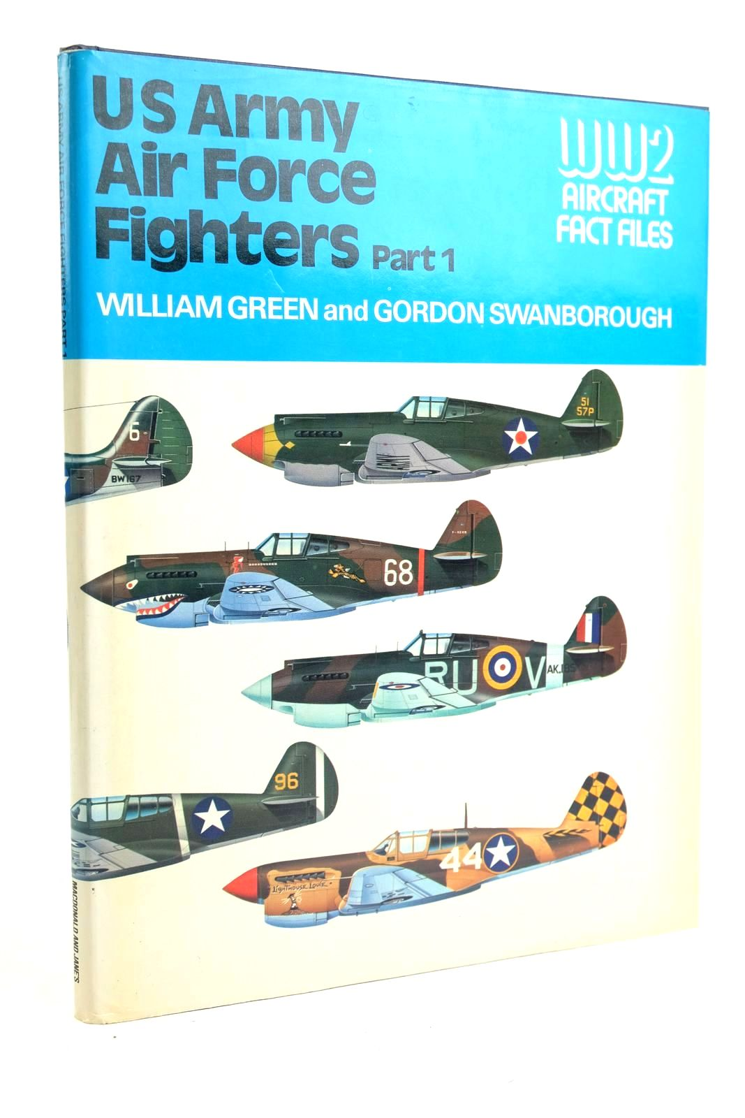 Photo of US ARMY AIR FORCE FIGHTERS PART 1 written by Green, William Swanborough, Gordon published by Macdonald and Jane's (STOCK CODE: 1320152)  for sale by Stella & Rose's Books