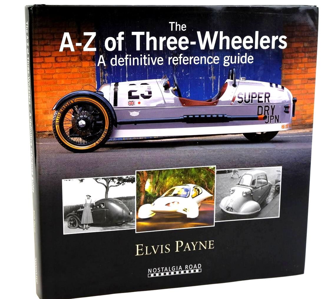 Photo of THE A-Z OF THREE-WHEELERS - A DEFINITIVE REFERENCE GUIDE written by Payne, Elvis published by Crecy Publishing Limited (STOCK CODE: 1320191)  for sale by Stella & Rose's Books