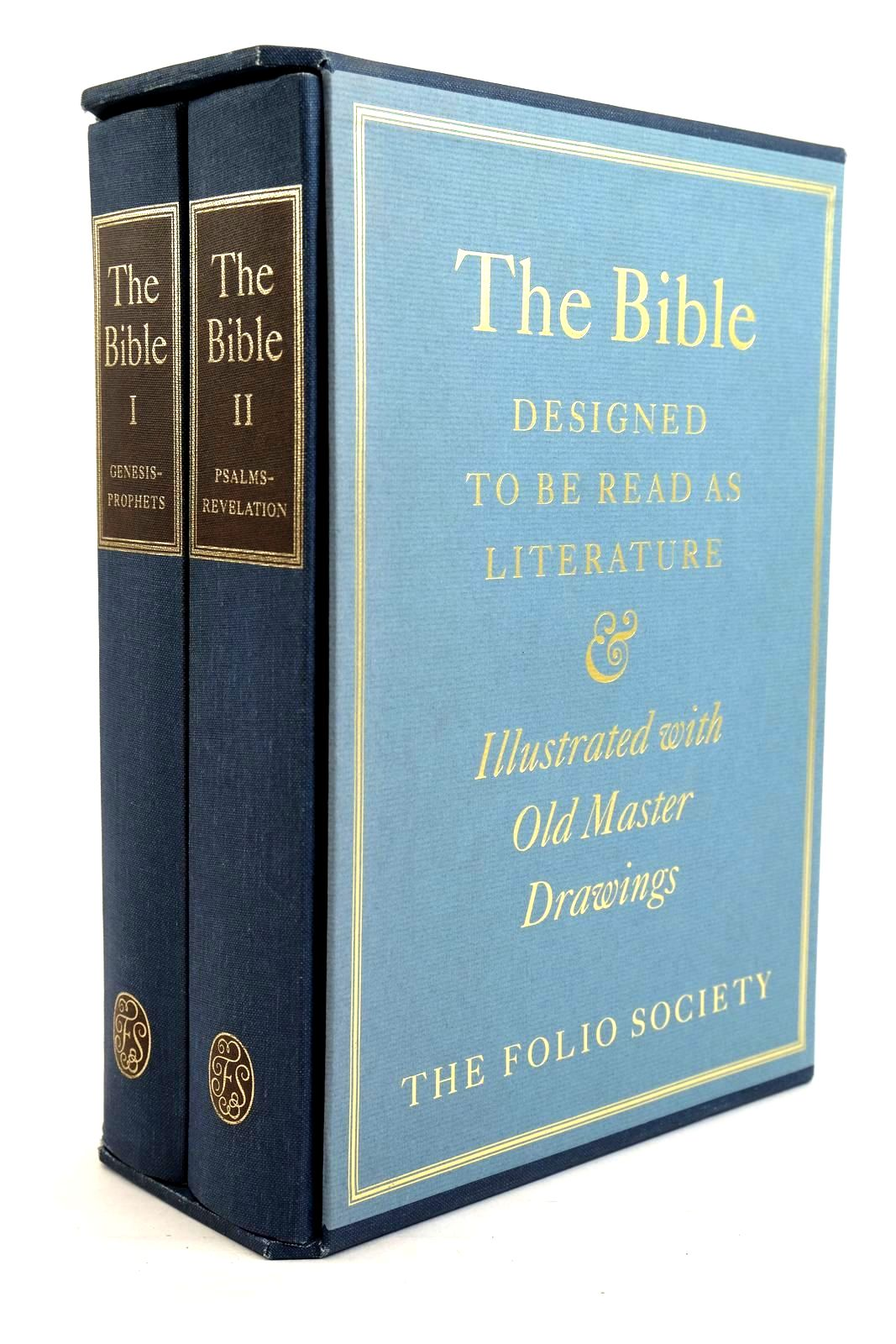 Photo of THE BIBLE DESIGNED TO BE READ AS LITERATURE (2 VOLUMES) written by Bates, Ernest Sutherland published by Folio Society (STOCK CODE: 1320199)  for sale by Stella & Rose's Books