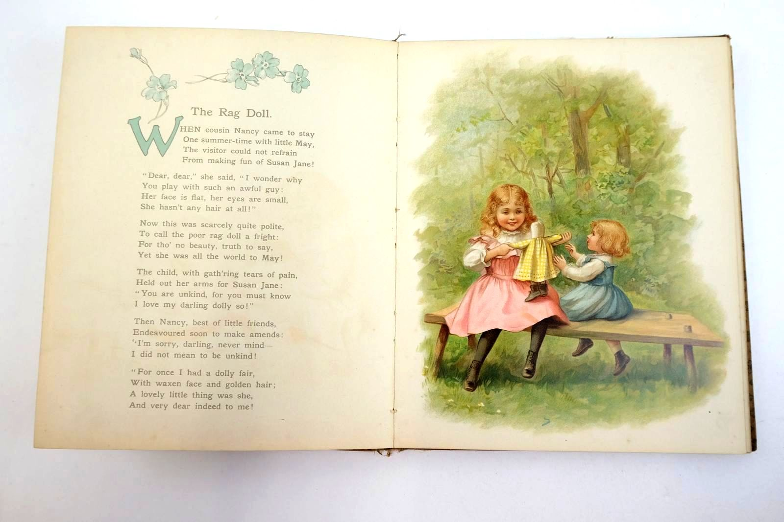 Photo of WHEN MOTHER WAS A LITTLE GIRL written by Blanchard, Amy et al, illustrated by Waugh, Ida published by Ernest Nister (STOCK CODE: 1320201)  for sale by Stella & Rose's Books