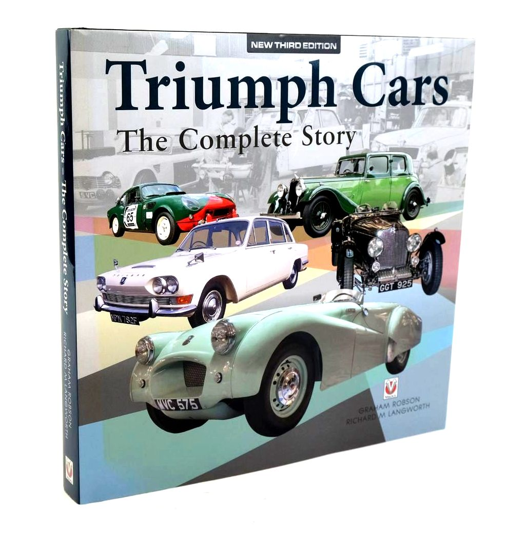 Photo of TRIUMPH CARS THE COMPLETE STORY written by Robson, Graham Langworth, Richard M. published by Veloce Publishing (STOCK CODE: 1320204)  for sale by Stella & Rose's Books