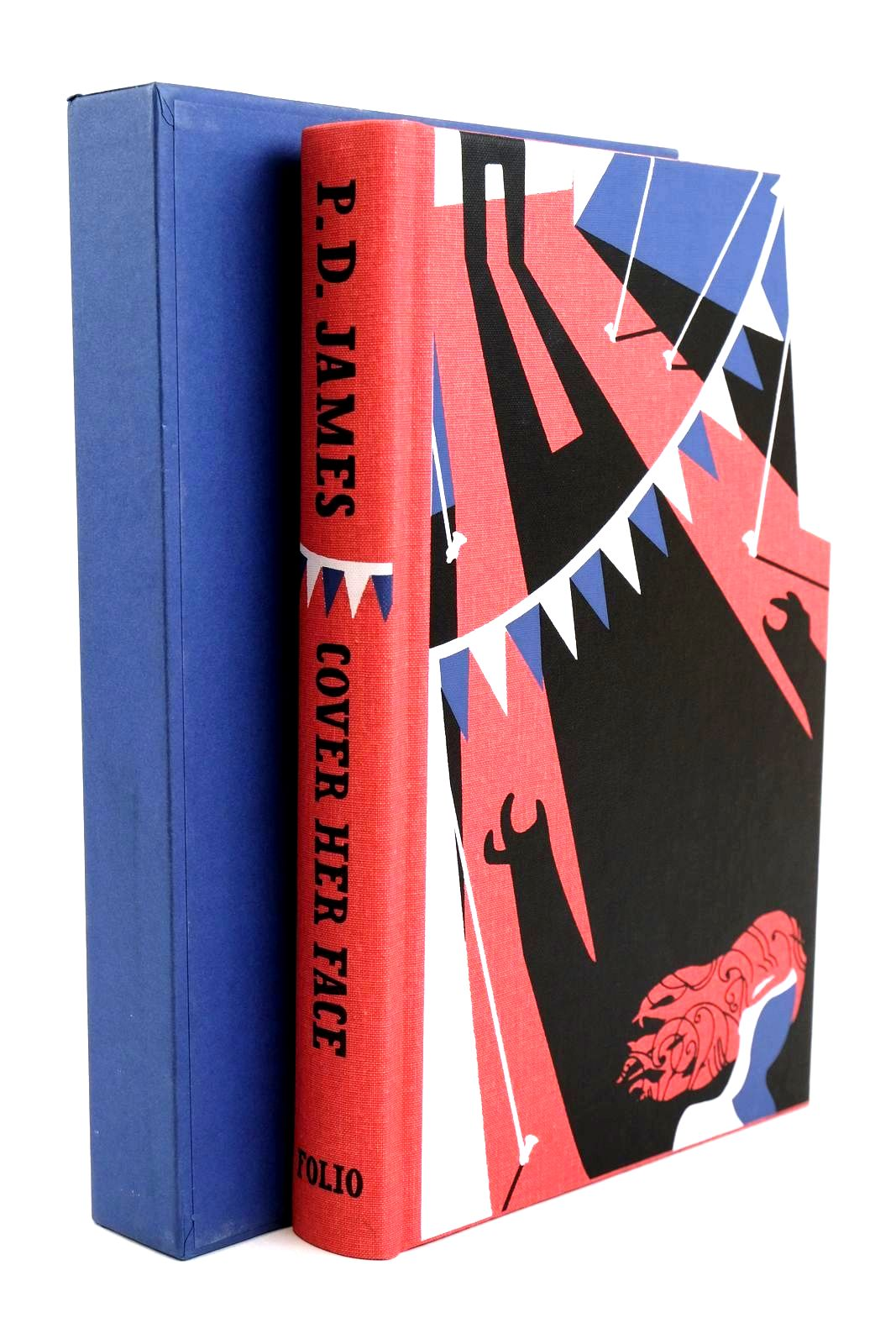 Photo of COVER HER FACE written by James, P.D. illustrated by Burton, Jonathan published by Folio Society (STOCK CODE: 1320234)  for sale by Stella & Rose's Books