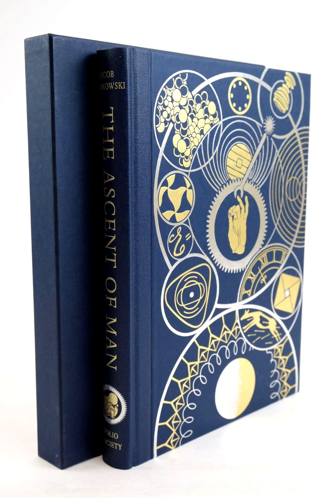 Photo of THE ASCENT OF MAN written by Bronowski, J. Bragg, Melvyn published by Folio Society (STOCK CODE: 1320244)  for sale by Stella & Rose's Books