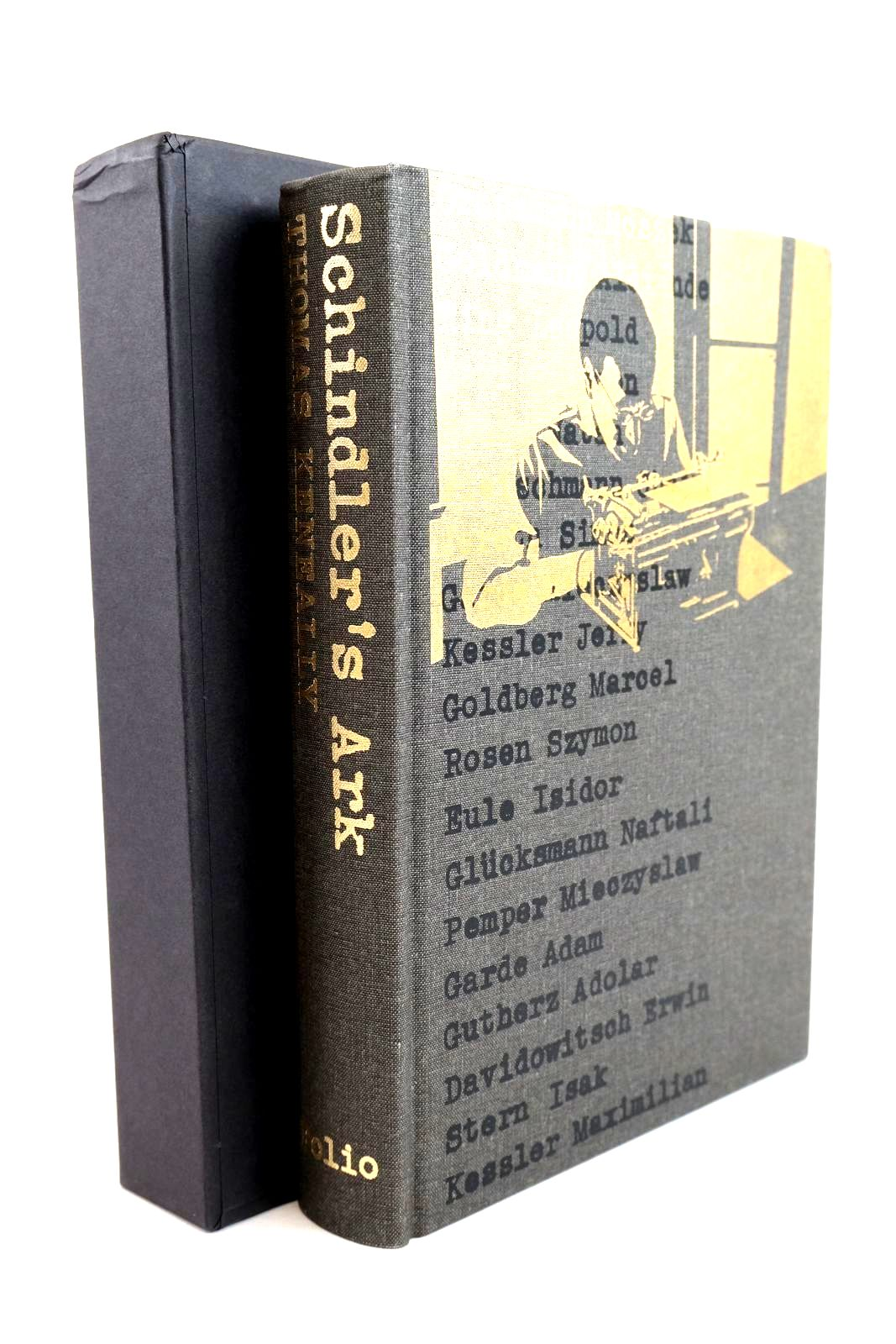 Photo of SCHINDLER'S ARK written by Keneally, Thomas illustrated by Laing, Tim published by Folio Society (STOCK CODE: 1320249)  for sale by Stella & Rose's Books