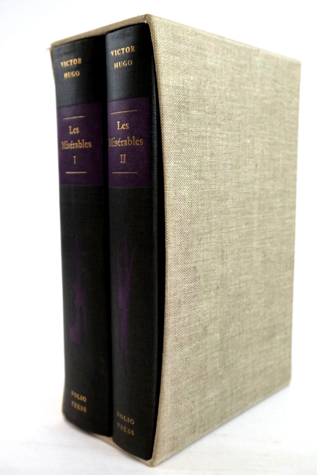 Photo of LES MISERABLES (2 VOLUMES) written by Hugo, Victor Denny, Norman illustrated by Keeping, Charles published by Folio Press (STOCK CODE: 1320252)  for sale by Stella & Rose's Books
