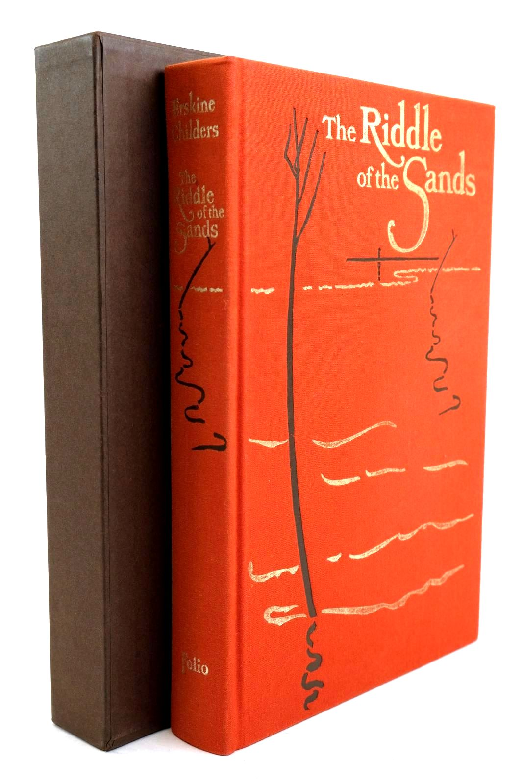 Photo of THE RIDDLE OF THE SANDS written by Childers, Erskine illustrated by Whistler, Daniel published by Folio Society (STOCK CODE: 1320268)  for sale by Stella & Rose's Books