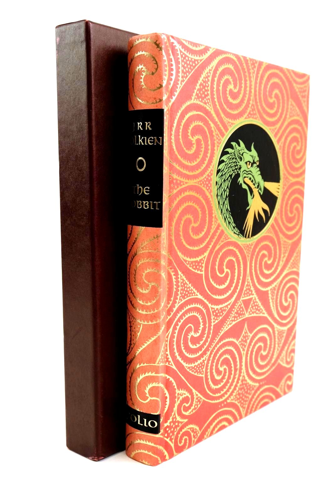 Photo of THE HOBBIT OR THERE AND BACK AGAIN written by Tolkien, J.R.R. illustrated by Fraser, Eric published by Folio Society (STOCK CODE: 1320298)  for sale by Stella & Rose's Books