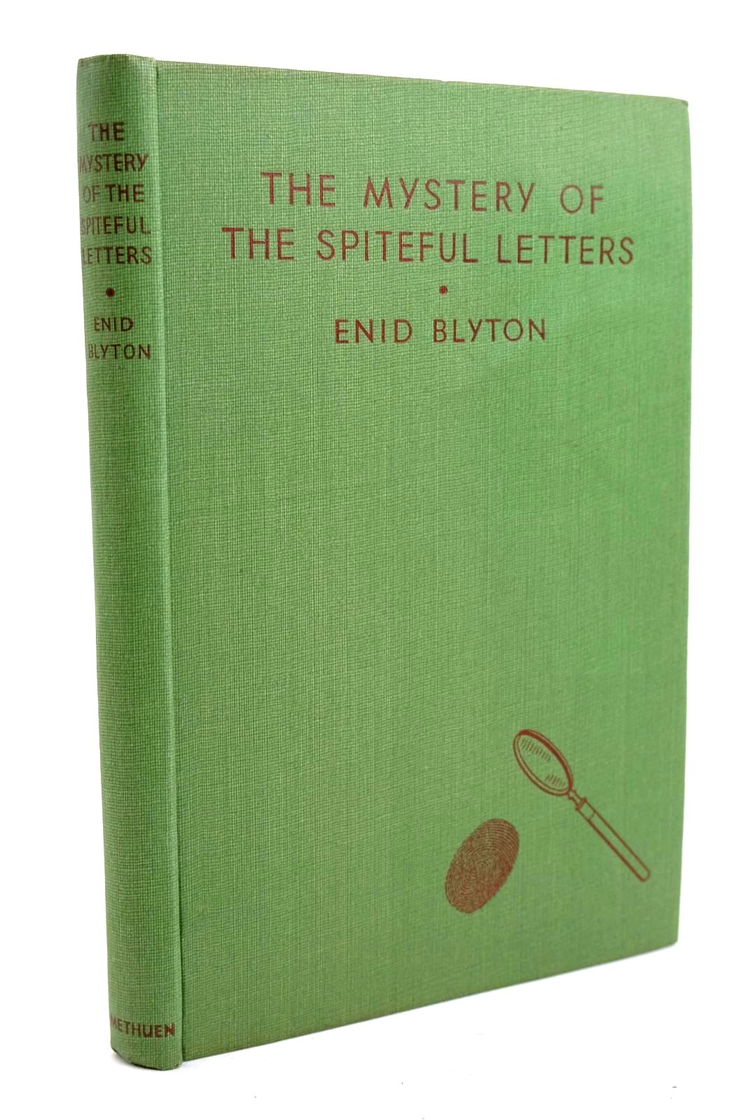 Photo of THE MYSTERY OF THE SPITEFUL LETTERS written by Blyton, Enid illustrated by Abbey, J. published by Methuen & Co. Ltd. (STOCK CODE: 1320313)  for sale by Stella & Rose's Books