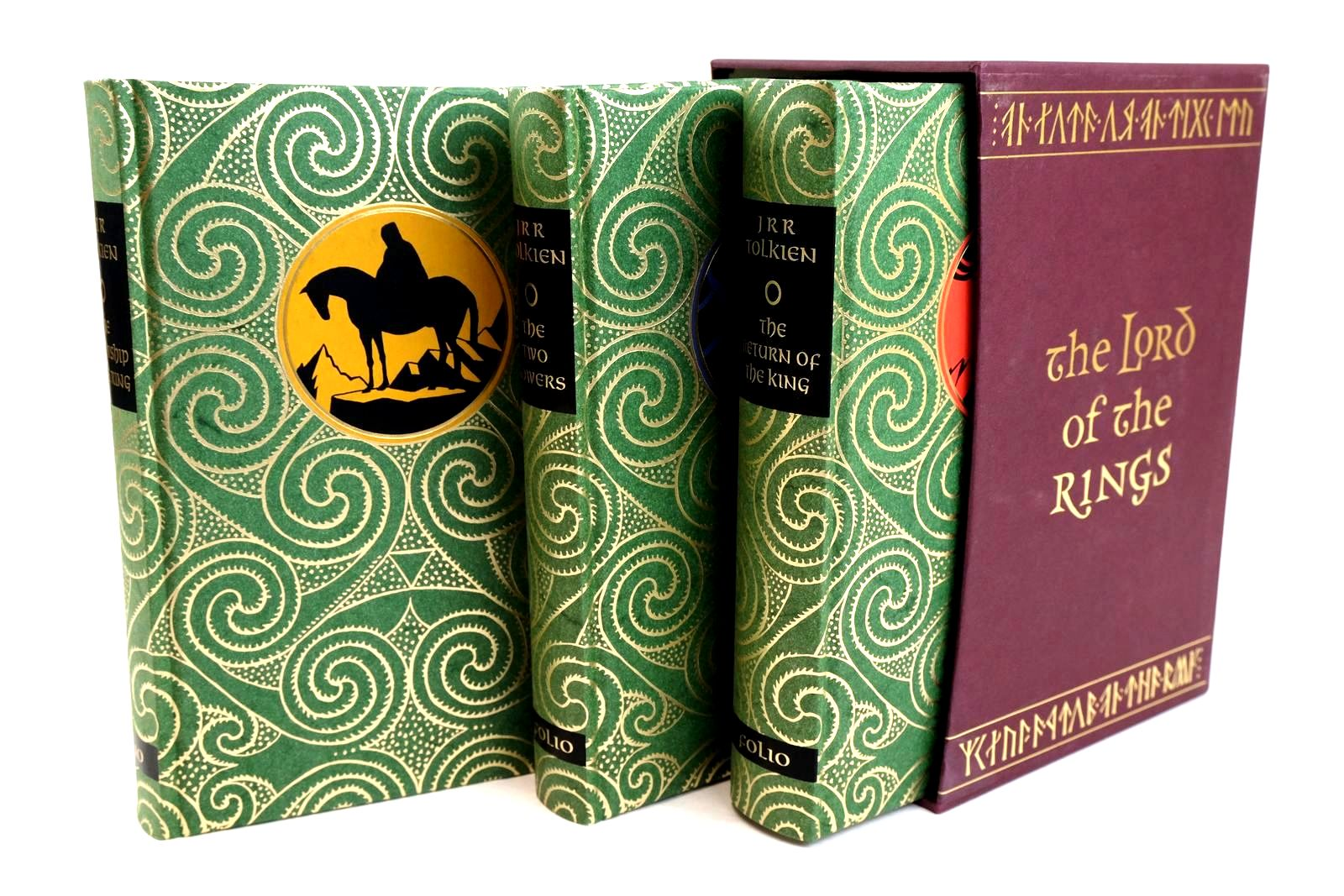 Photo of THE LORD OF THE RINGS written by Tolkien, J.R.R. illustrated by Grathmer, Ingahild Fraser, Eric published by Folio Society (STOCK CODE: 1320315)  for sale by Stella & Rose's Books