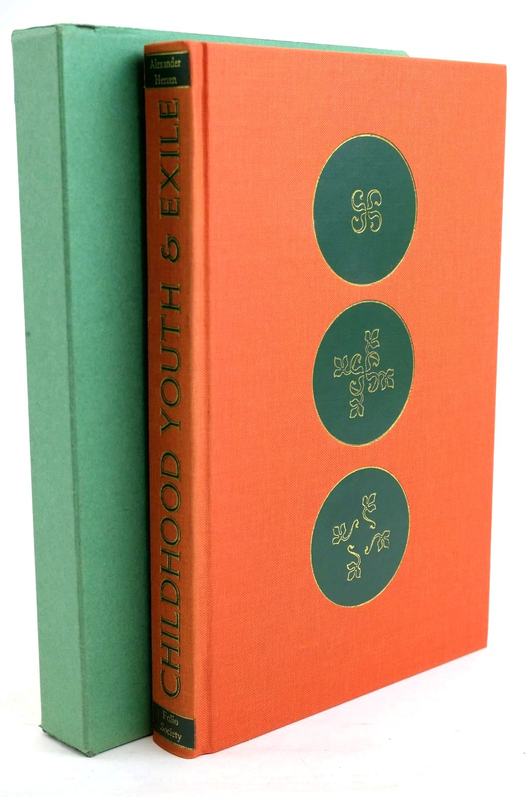 Photo of CHILDHOOD, YOUTH & EXILE written by Herzen, Alexander published by Folio Society (STOCK CODE: 1320323)  for sale by Stella & Rose's Books