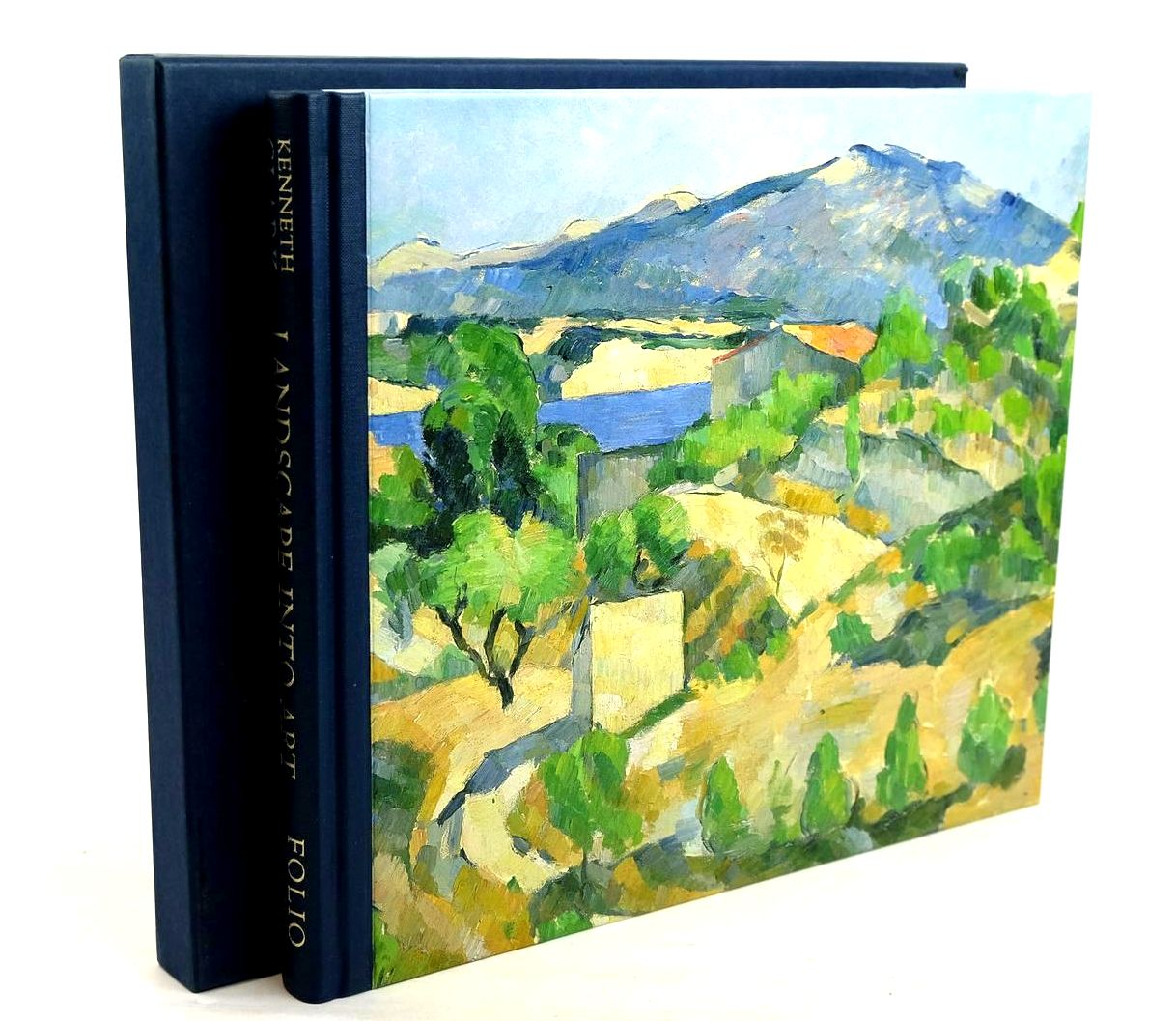 Photo of LANDSCAPE INTO ART written by Clark, Kenneth published by Folio Society (STOCK CODE: 1320326)  for sale by Stella & Rose's Books