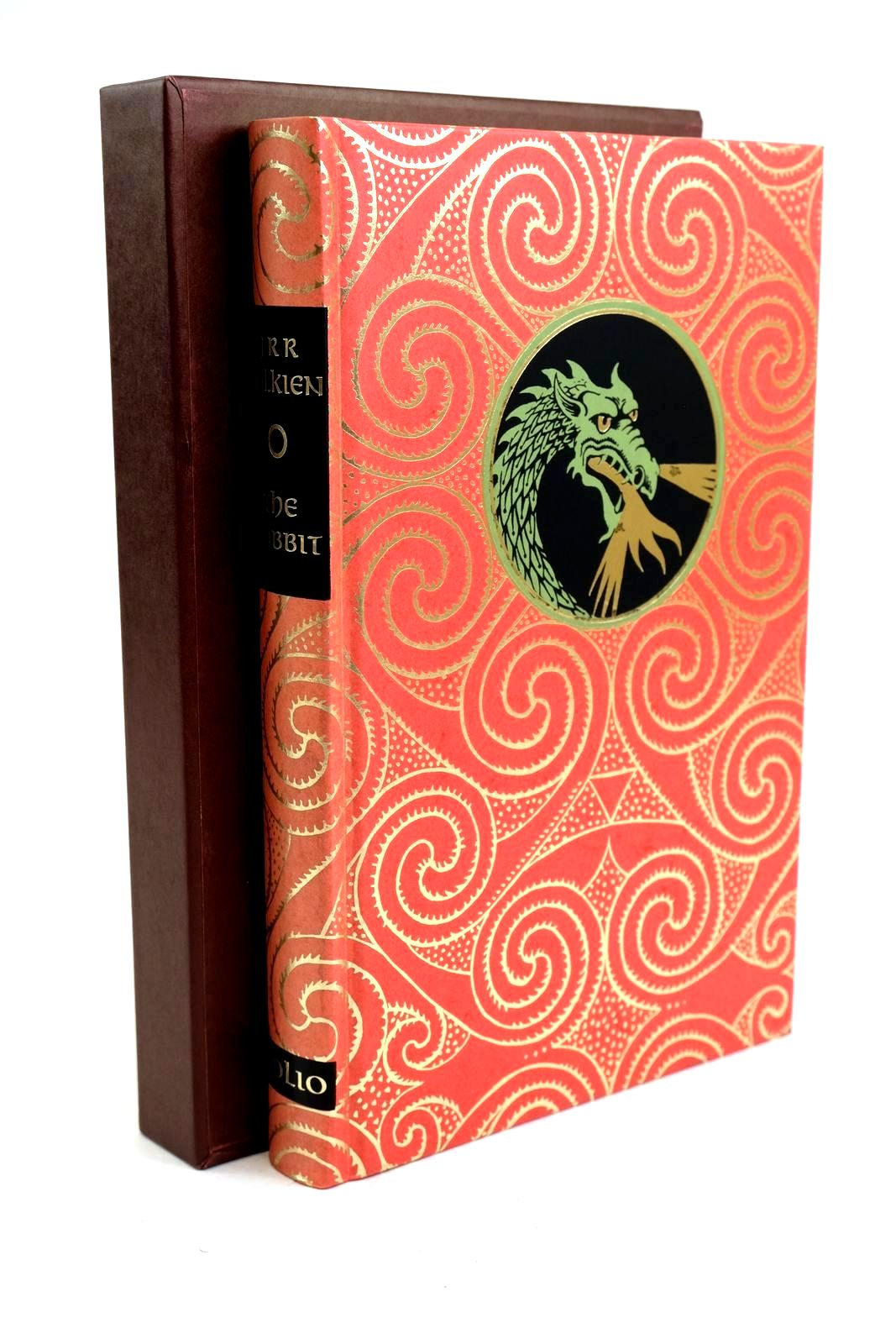 Photo of THE HOBBIT OR THERE AND BACK AGAIN written by Tolkien, J.R.R. illustrated by Fraser, Eric published by Folio Society (STOCK CODE: 1320342)  for sale by Stella & Rose's Books