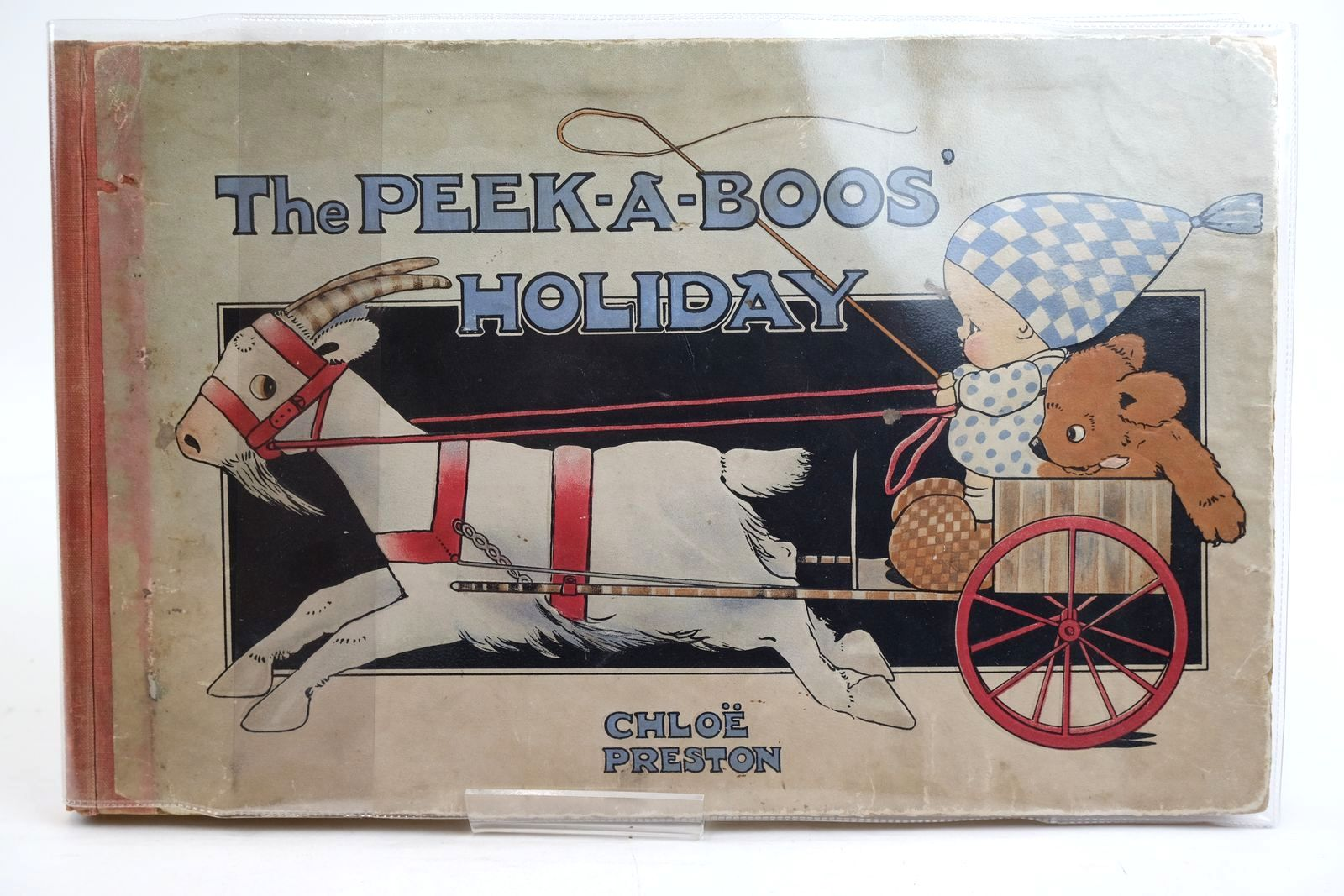 Photo of THE PEEK-A-BOOS' HOLIDAY written by Preston, Tom illustrated by Preston, Chloe published by Henry Frowde, Hodder & Stoughton (STOCK CODE: 1320360)  for sale by Stella & Rose's Books