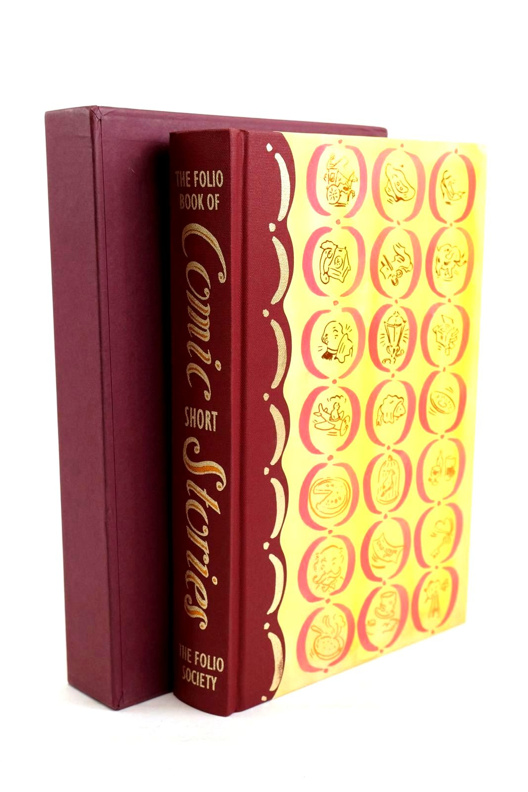 Photo of THE FOLIO BOOK OF COMIC SHORT STORIES- Stock Number: 1320373