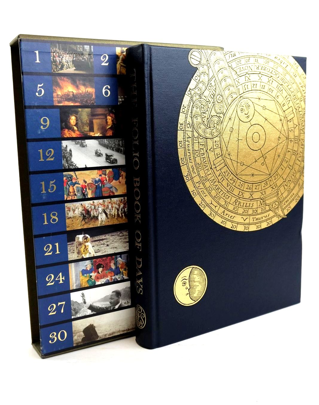 Photo of THE FOLIO BOOK OF DAYS written by Hudson, Roger published by Folio Society (STOCK CODE: 1320386)  for sale by Stella & Rose's Books