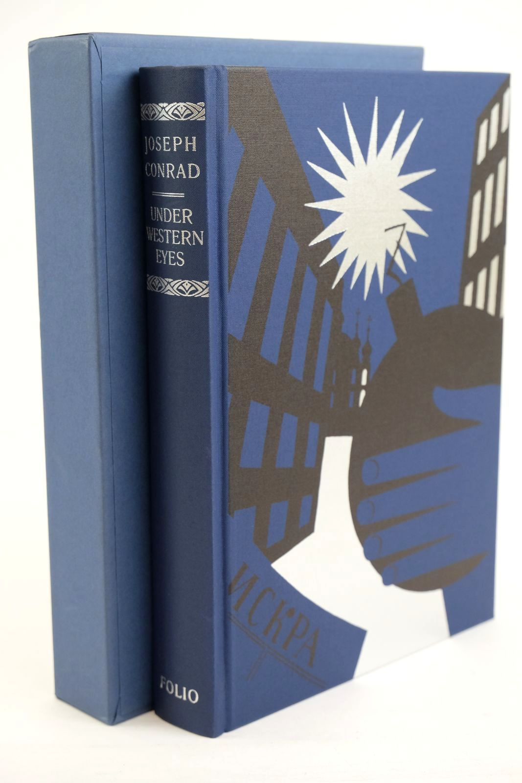 Photo of UNDER WESTERN EYES written by Conrad, Joseph Meyers, Jeffrey illustrated by Mosley, Francis published by Folio Society (STOCK CODE: 1320393)  for sale by Stella & Rose's Books