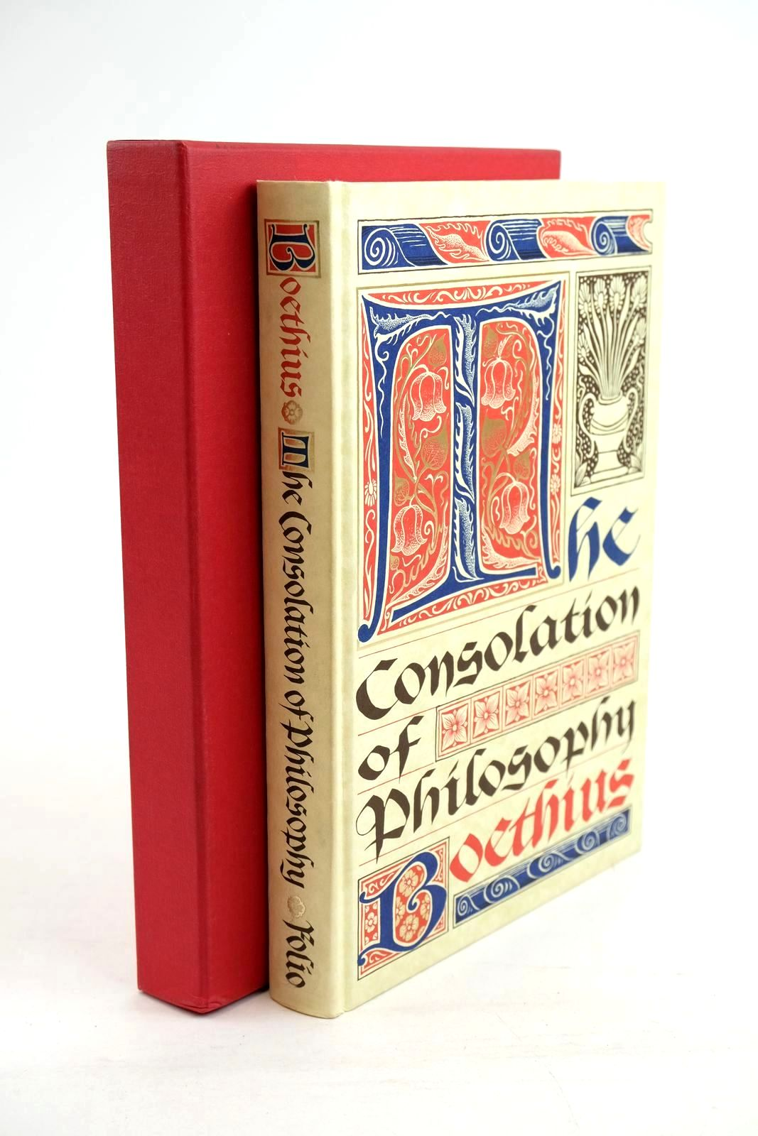 Photo of THE CONSOLATION OF PHILOSOPHY written by Boethius,  Watts, V.E. published by Folio Society (STOCK CODE: 1320403)  for sale by Stella & Rose's Books