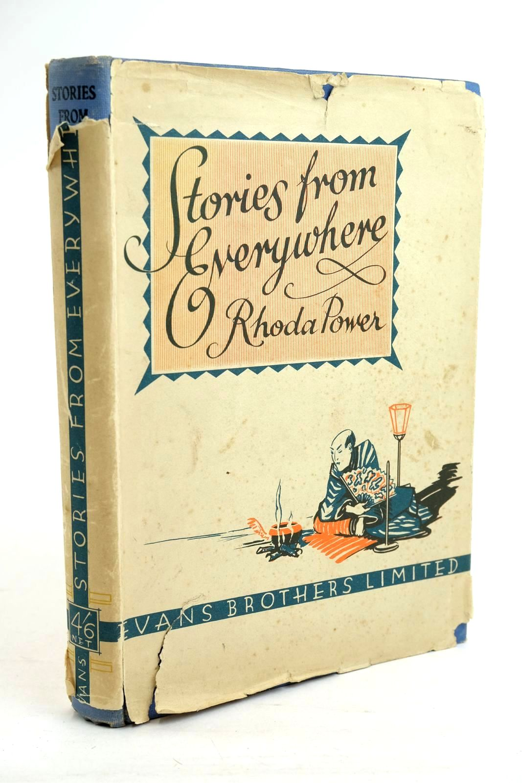 Photo of STORIES FROM EVERYWHERE written by Power, Rhoda illustrated by Brisley, Nina K. published by Evans Brothers Limited (STOCK CODE: 1320440)  for sale by Stella & Rose's Books