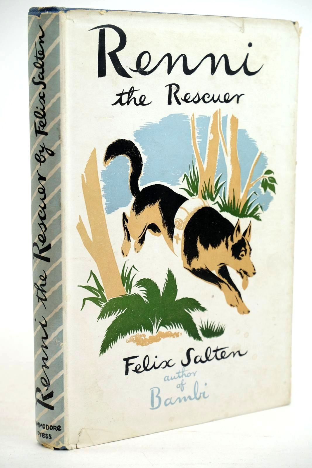 Photo of RENNI THE RESCUER written by Salten, Felix illustrated by Dunn, Sheila published by The Commodore Press (STOCK CODE: 1320455)  for sale by Stella & Rose's Books