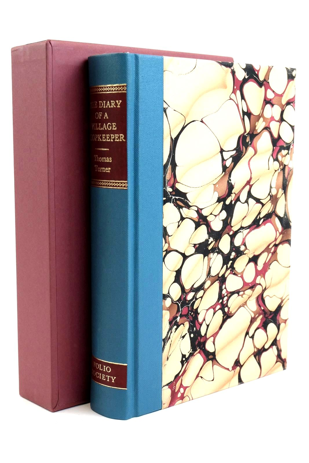 Photo of THE DIARY OF A VILLAGE SHOPKEEPER 1754-1765 written by Turner, Thomas Vaisey, David illustrated by Macgregor, Miriam published by Folio Society (STOCK CODE: 1320467)  for sale by Stella & Rose's Books